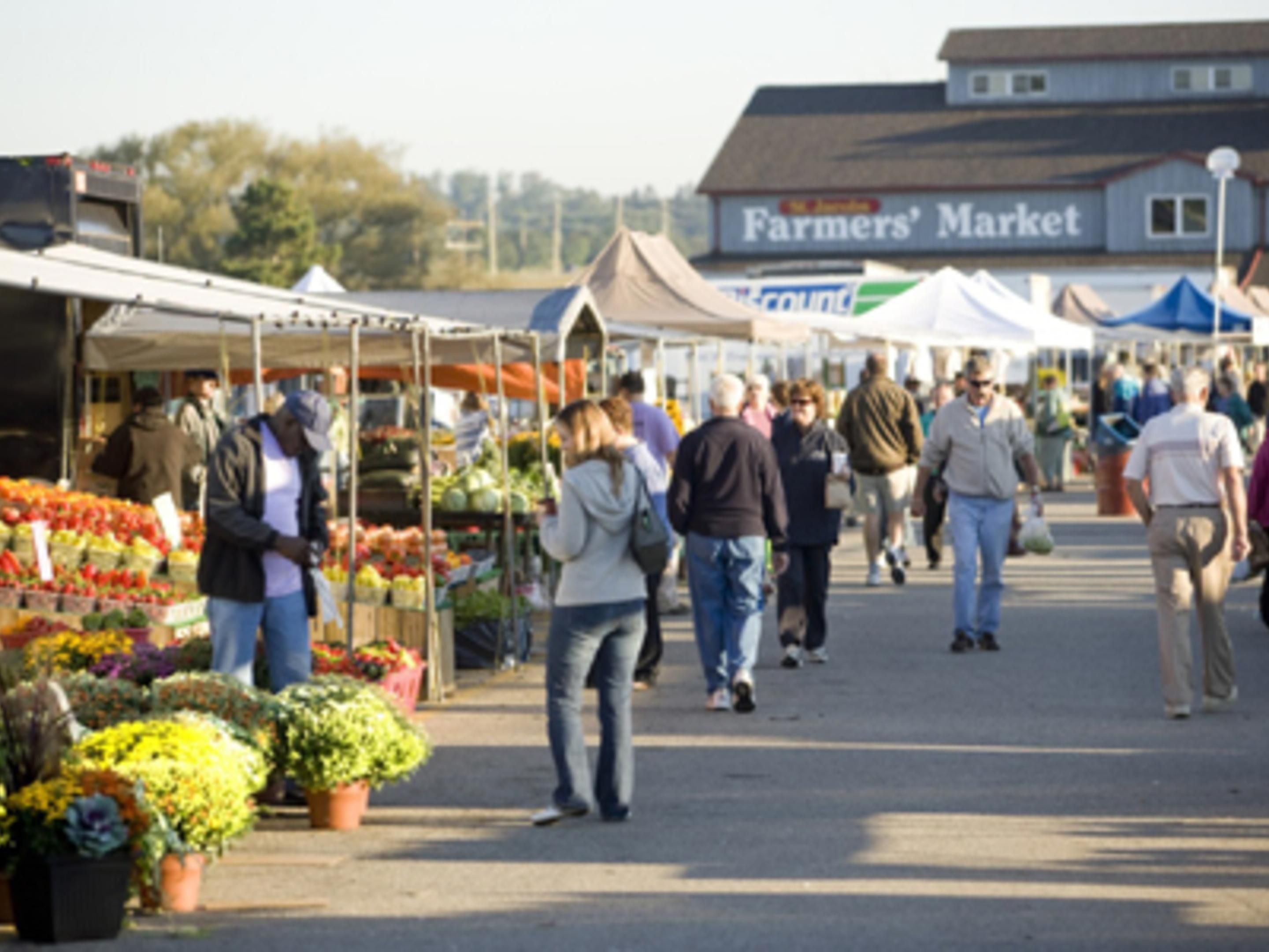 St. Jacobs Market- Located 15KM from Hotel