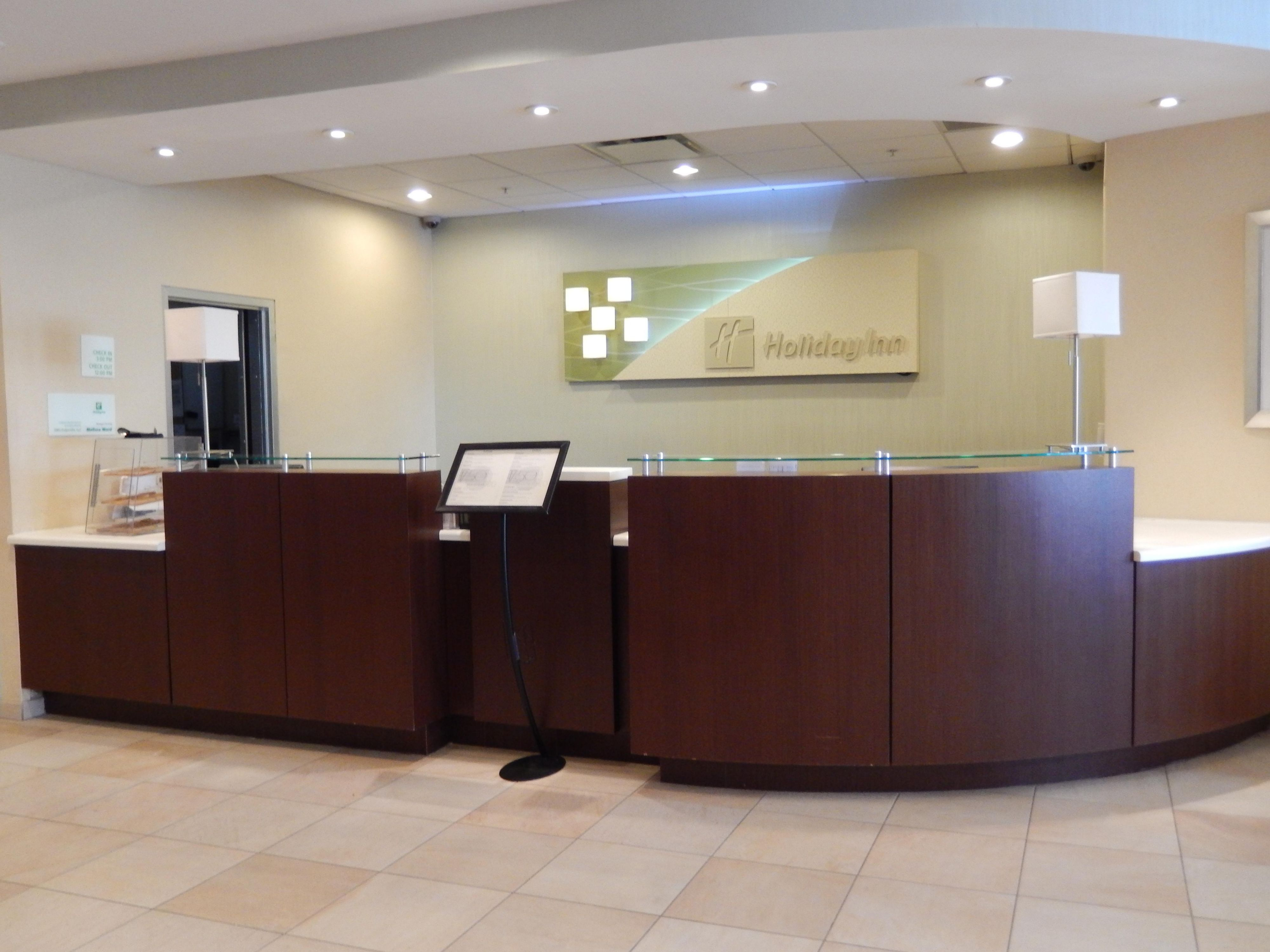 Our front desk is open 24 hours a day to assist you!