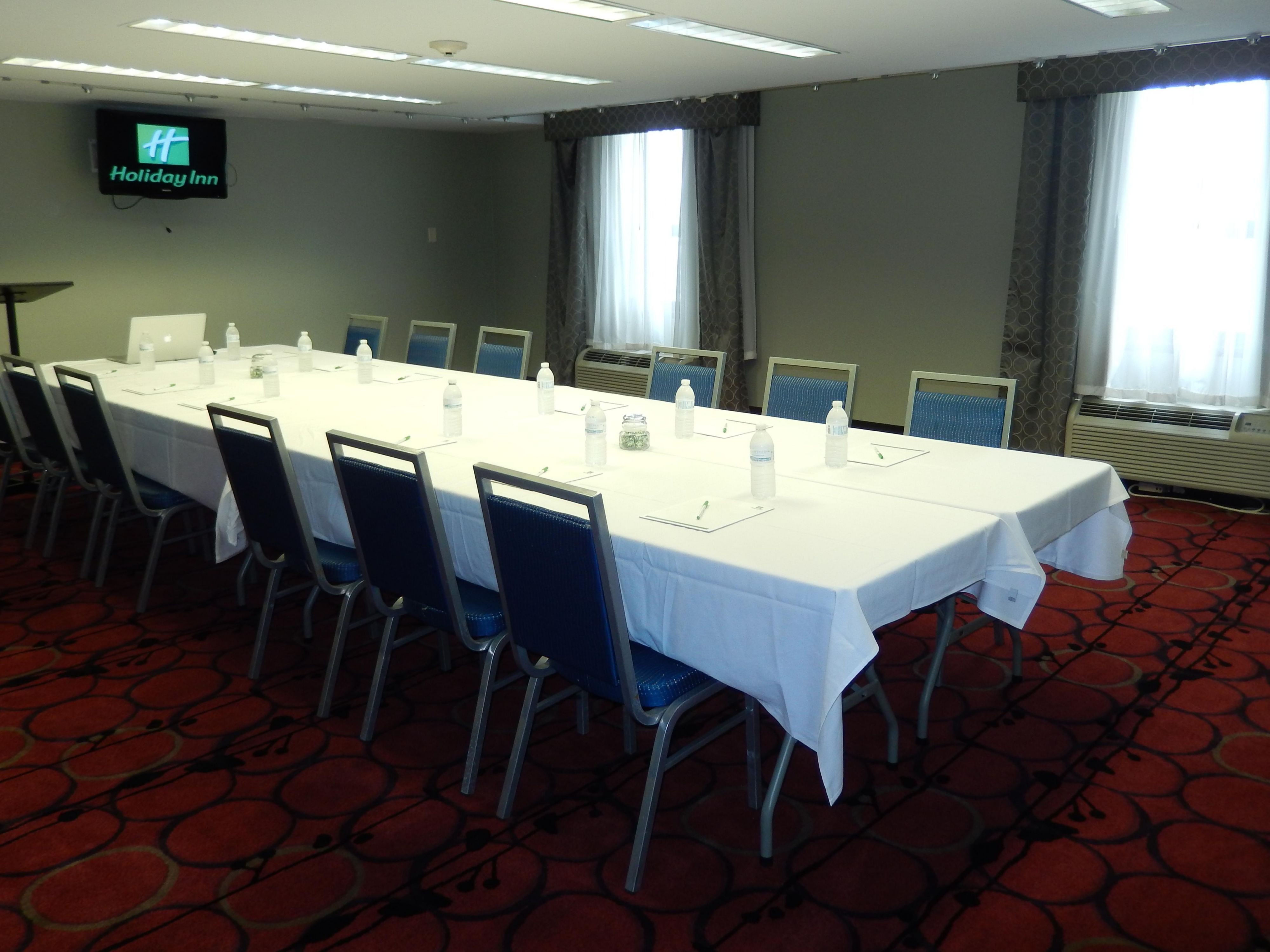 Board Room 153 set up in Conference Style