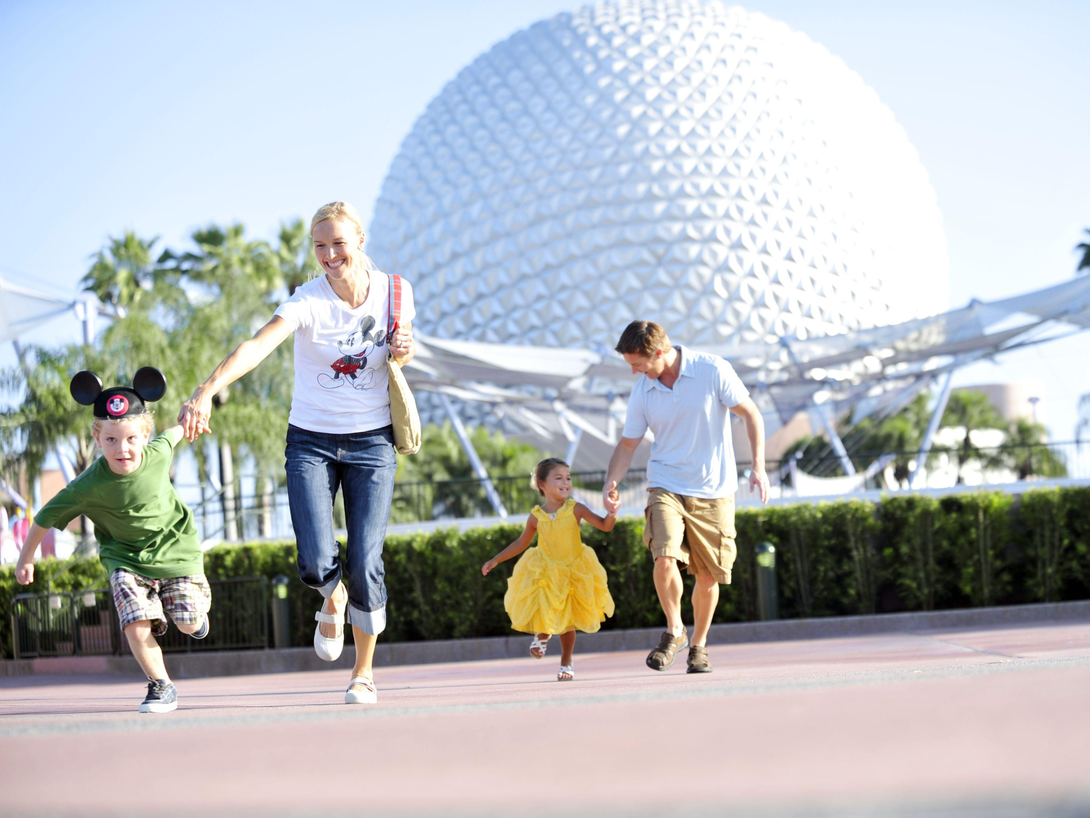 A great family day at Epcot