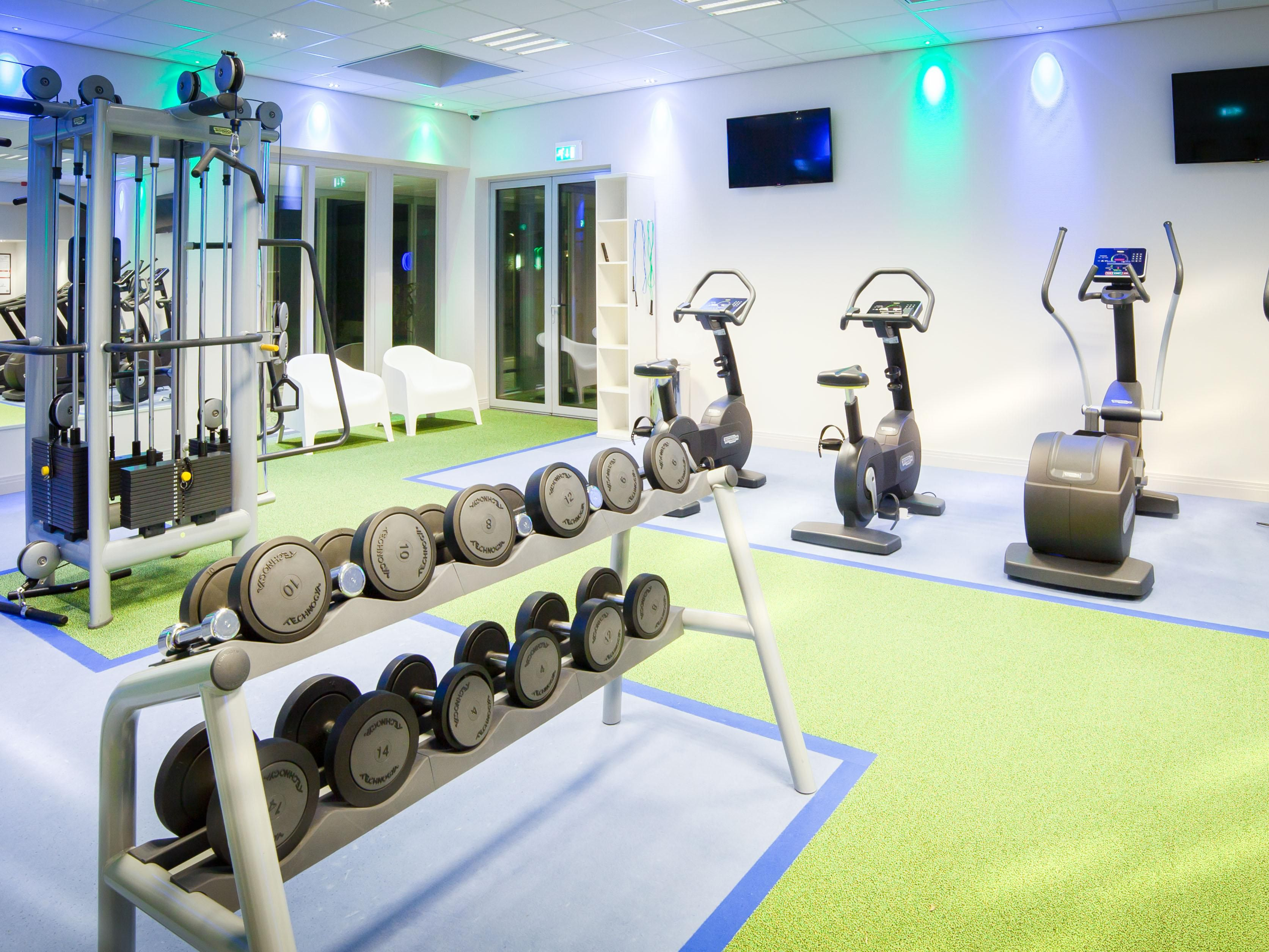 Time to work out? Welcome to our Fitness center!