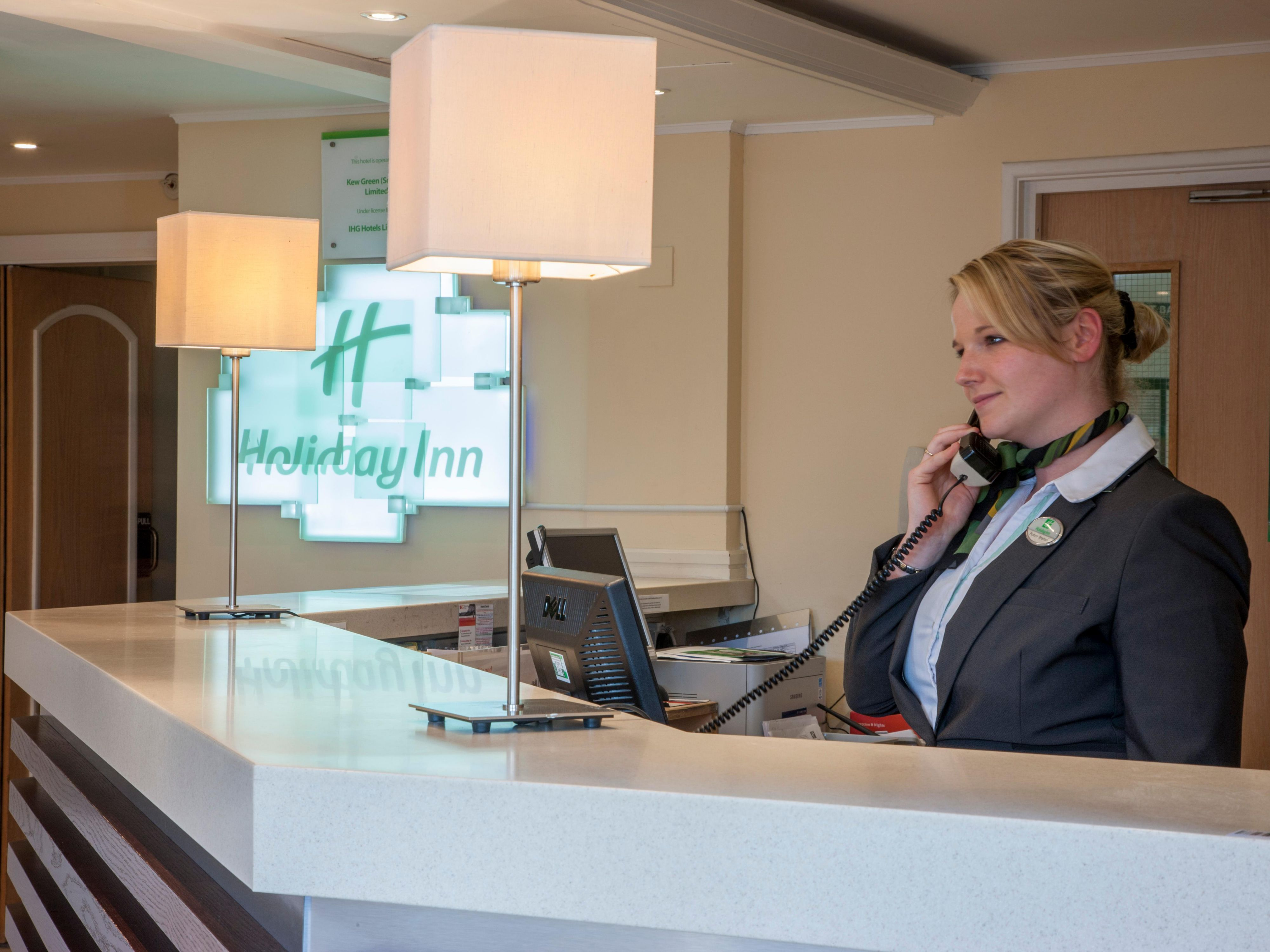 Front Desk team are on hand for you