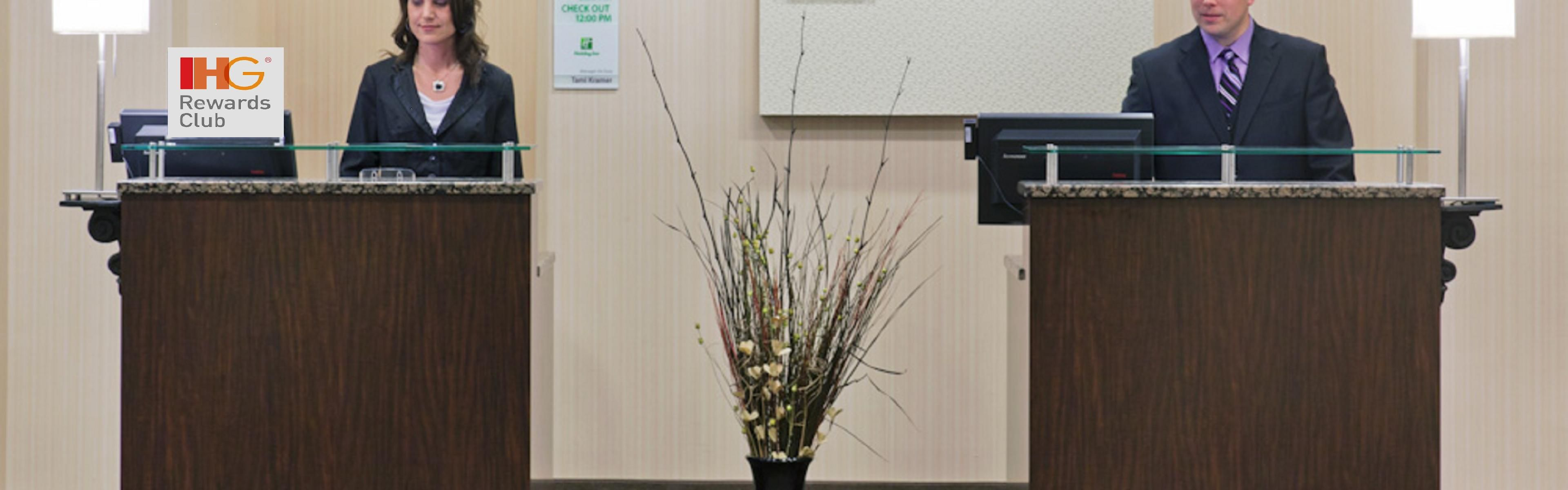 Welcome Front Desk; Thank You For Being Our Guest.