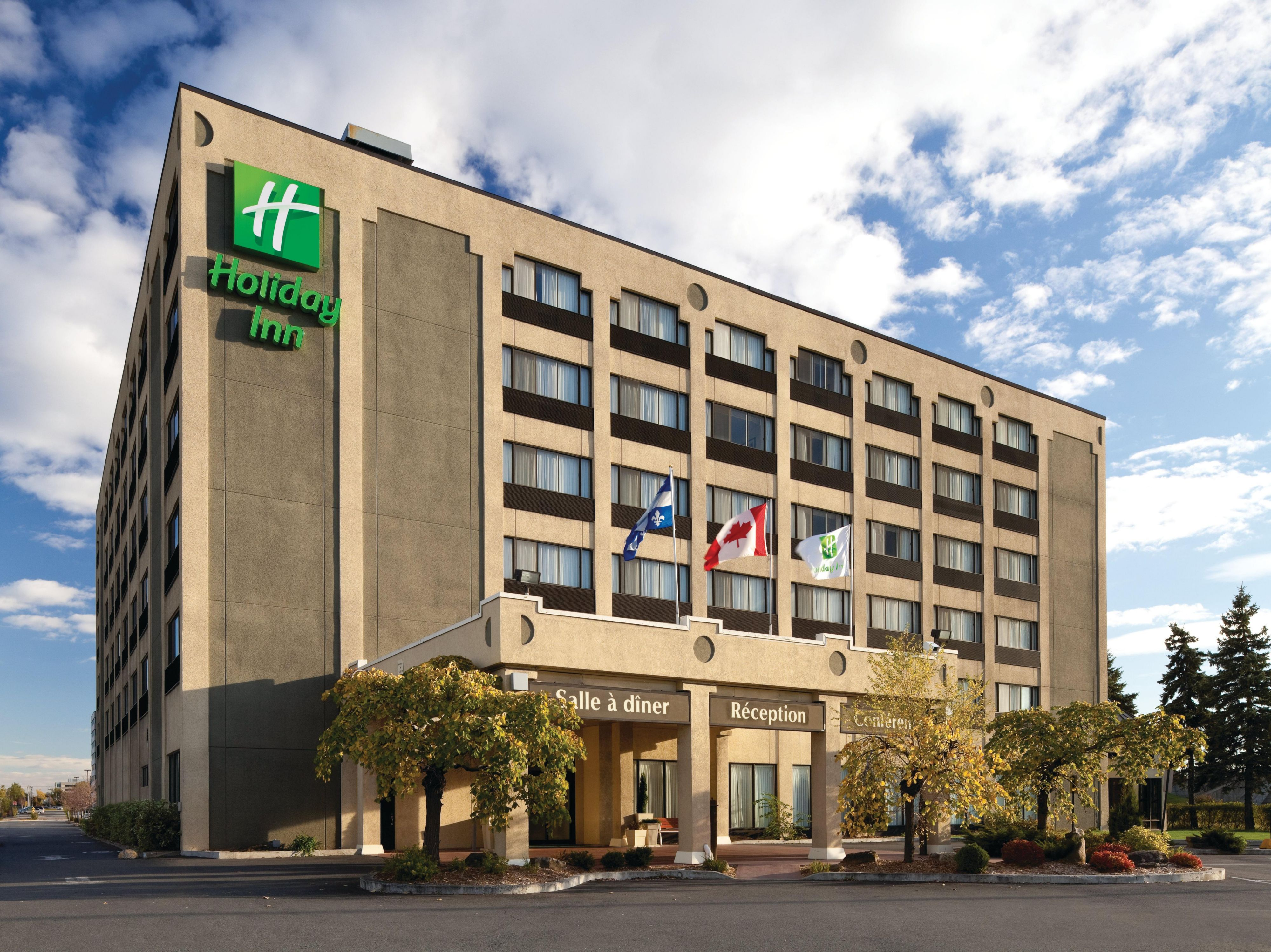We look forward to your visit to the Holiday Inn Longueuil!