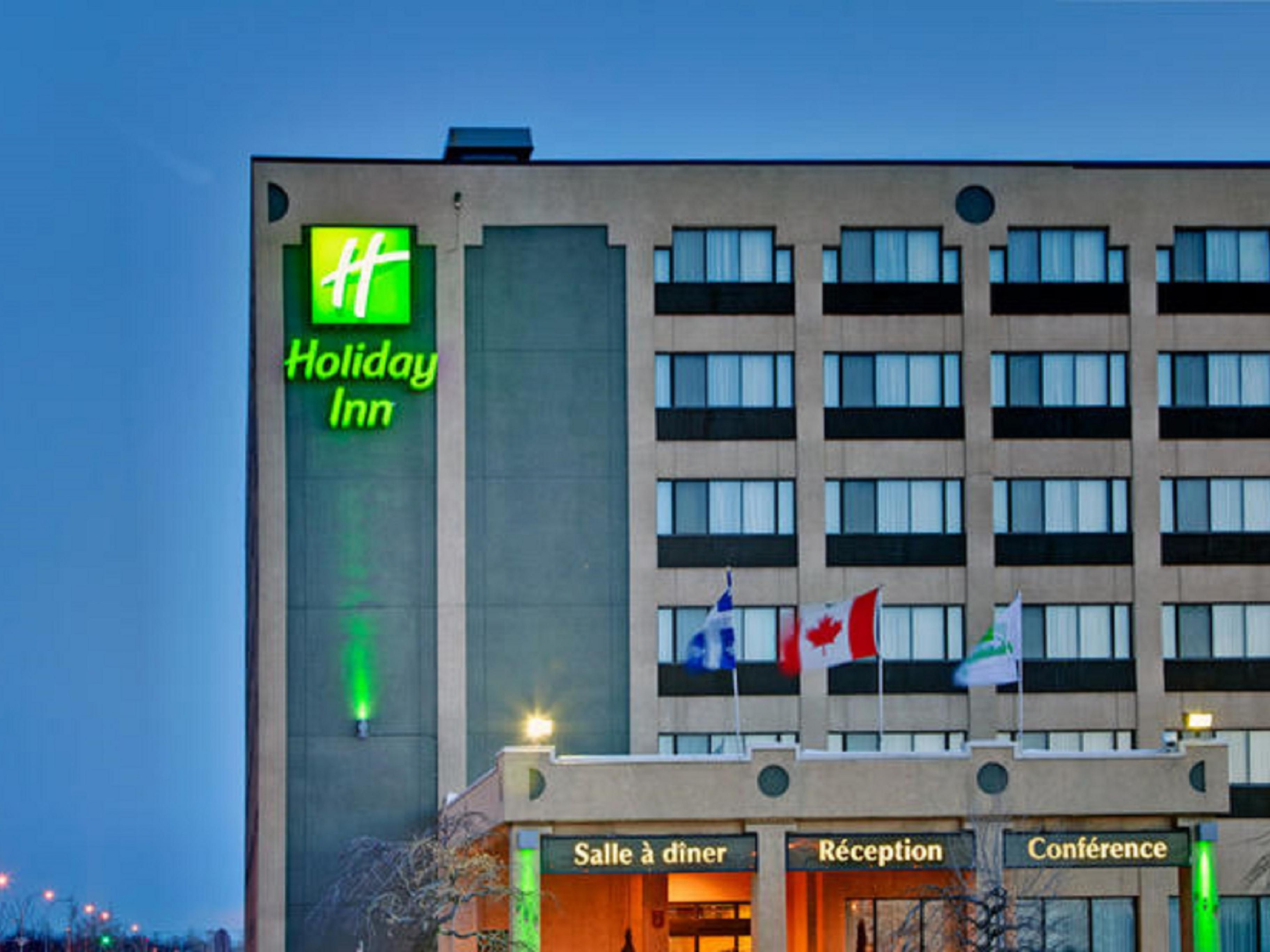 Welcome to Holiday Inn Montreal-Longueuil!