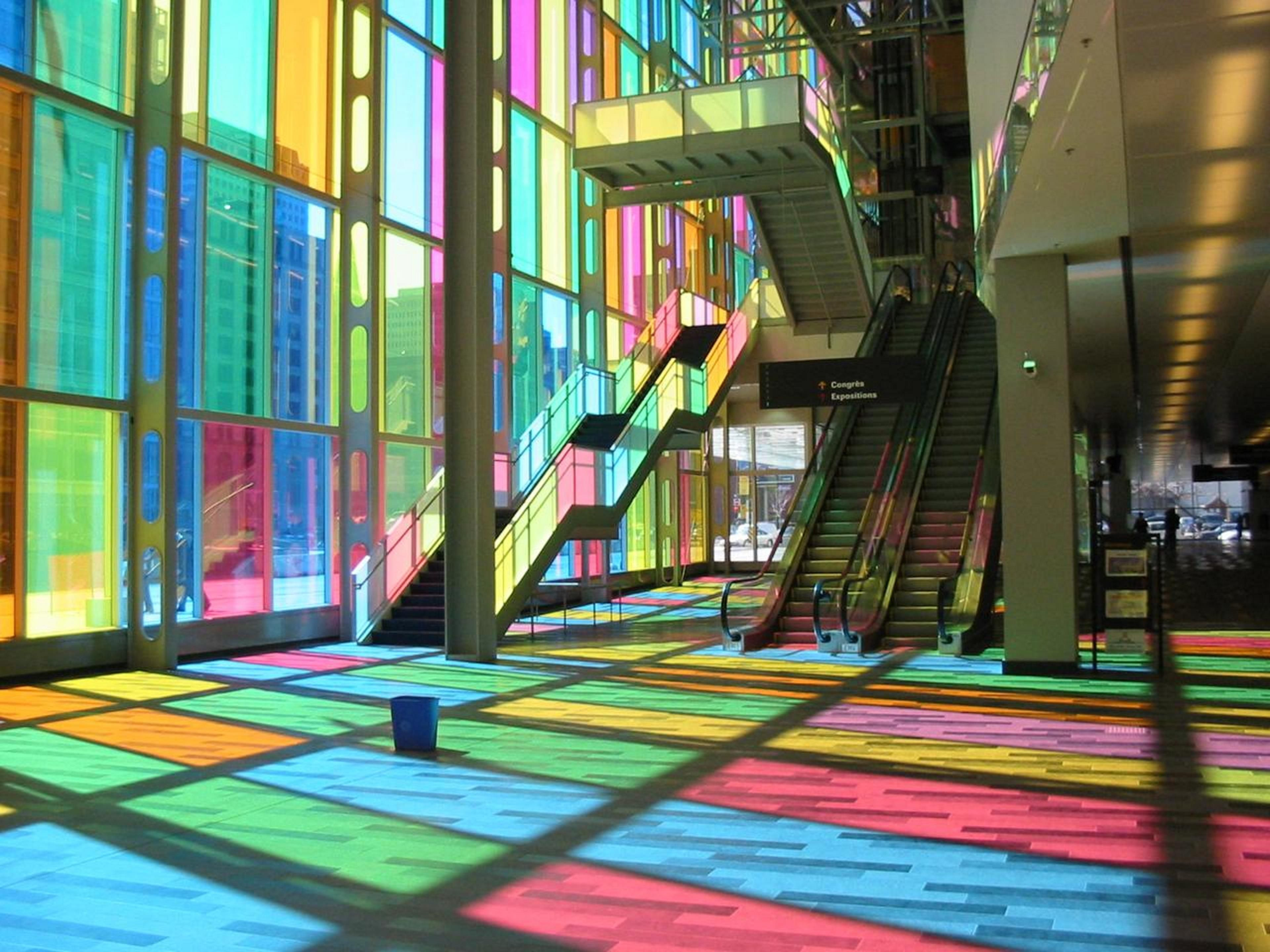 The Montreal convention centre - Le Palais des Congrès
