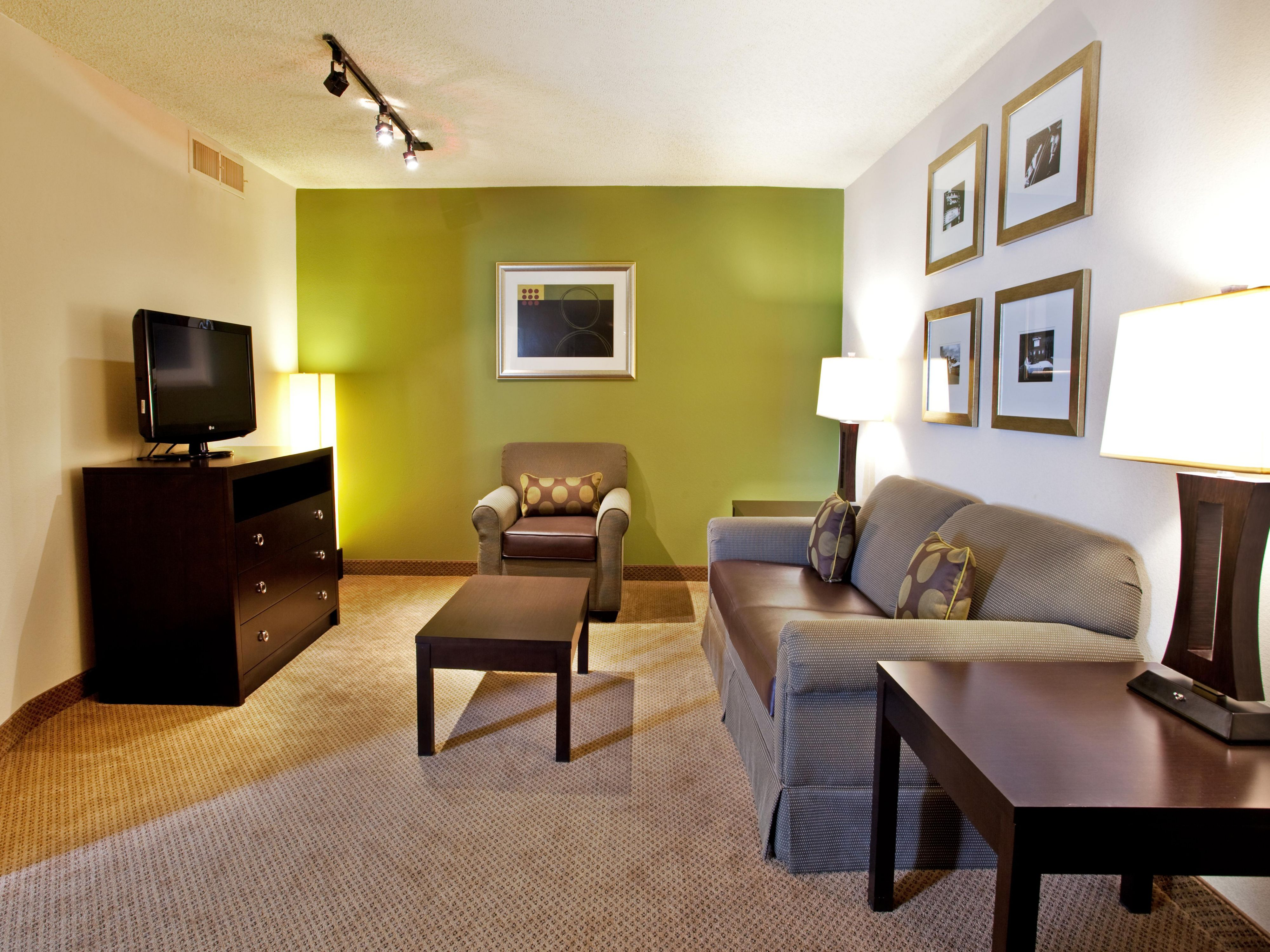 Spacious Junior Suites, perfect for the whole family or long stays