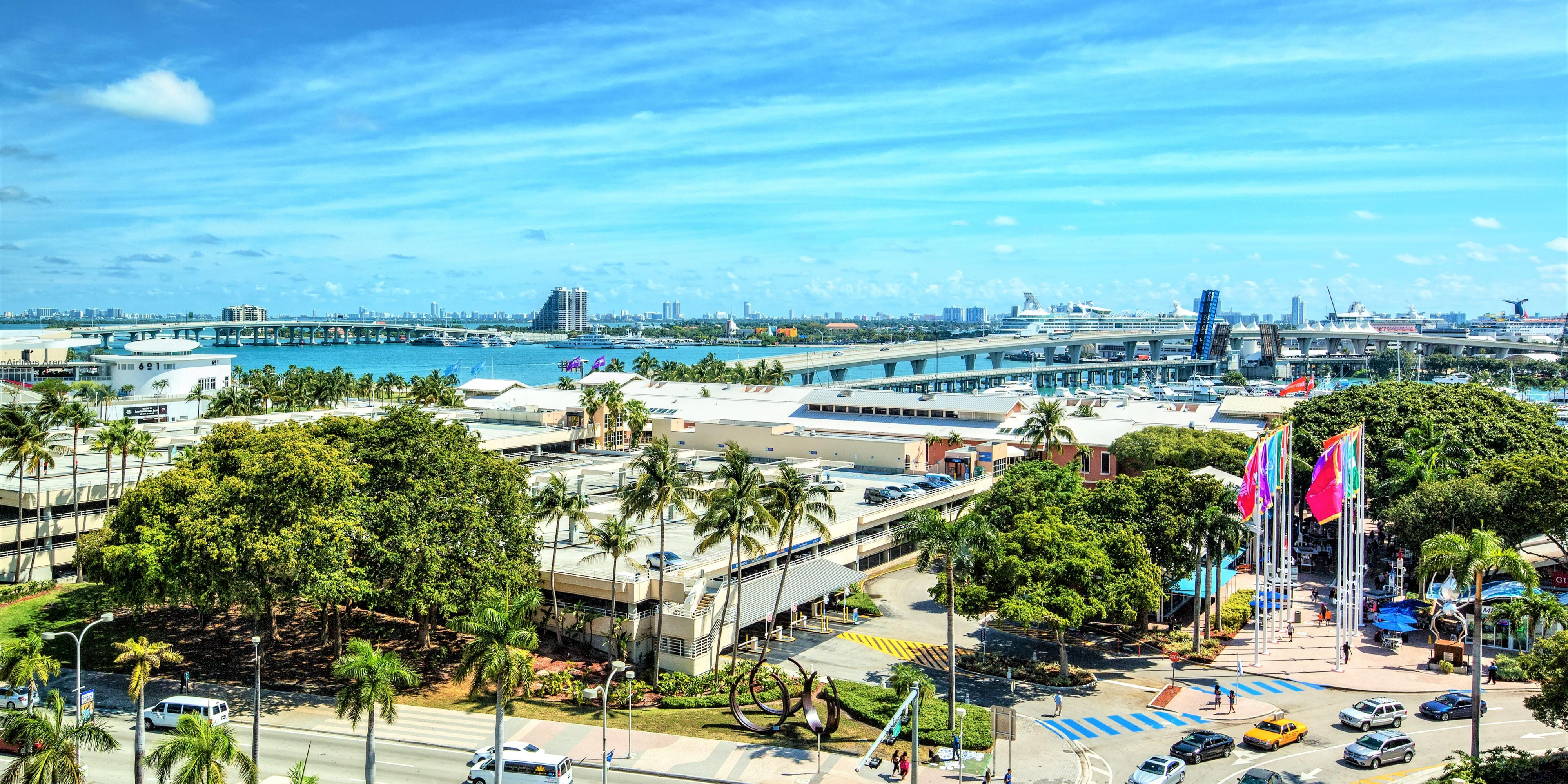 hotels near port of miami | holiday inn port of miami-downtown