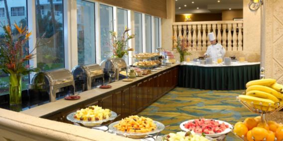 Holiday Inn Miami Beach Oceanfront Breakfast Buffet