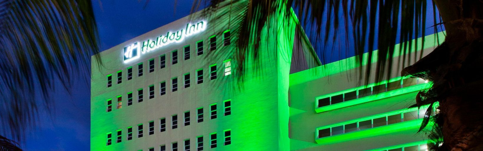 Holiday Inn Miami Beach Oceanfront Palm Front Exterior View