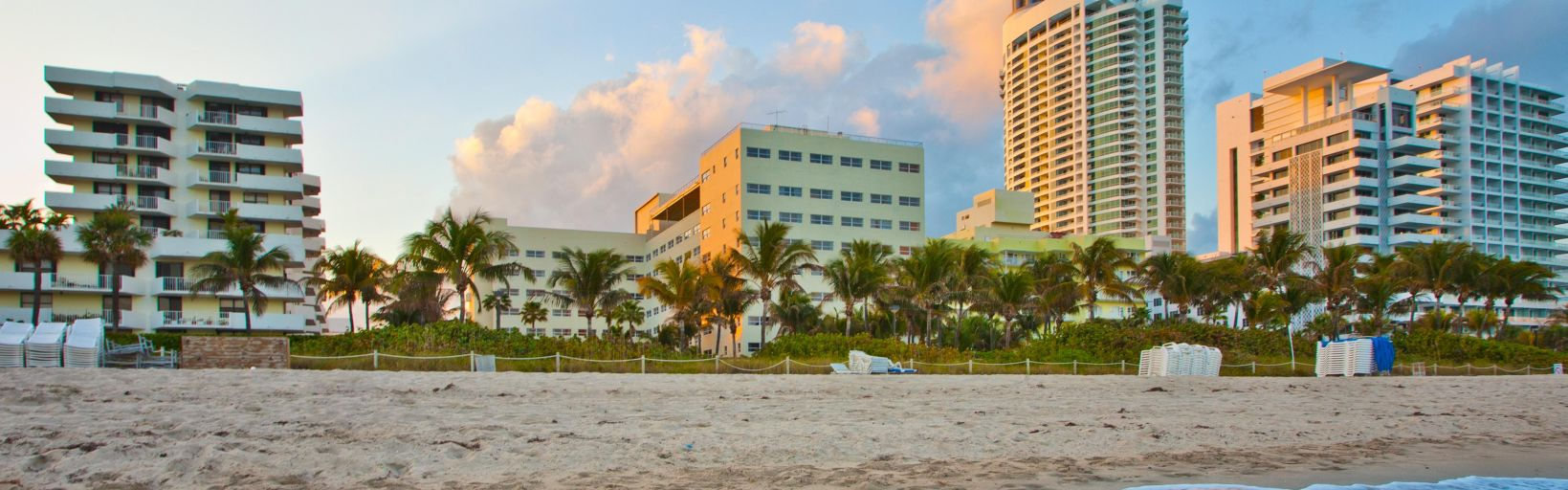 Miami Beach Oceanfront Day Exterior And Oceanview Hotel