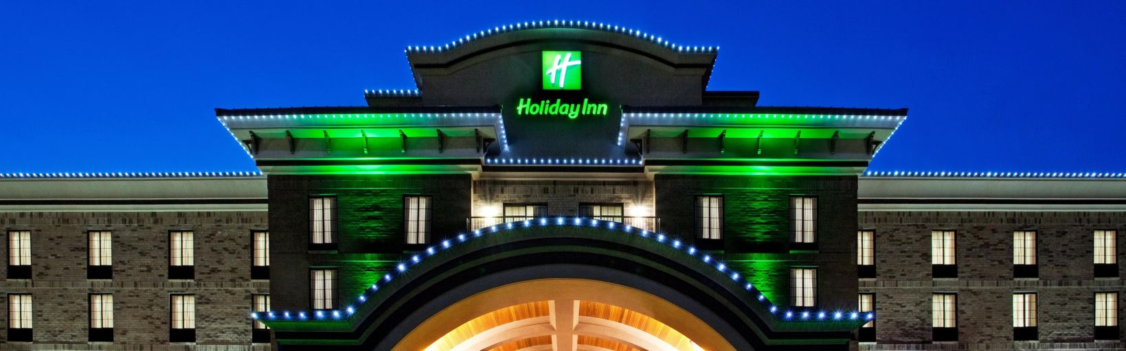 Front Desk Holiday Inn Of Midland Hotel Exterior