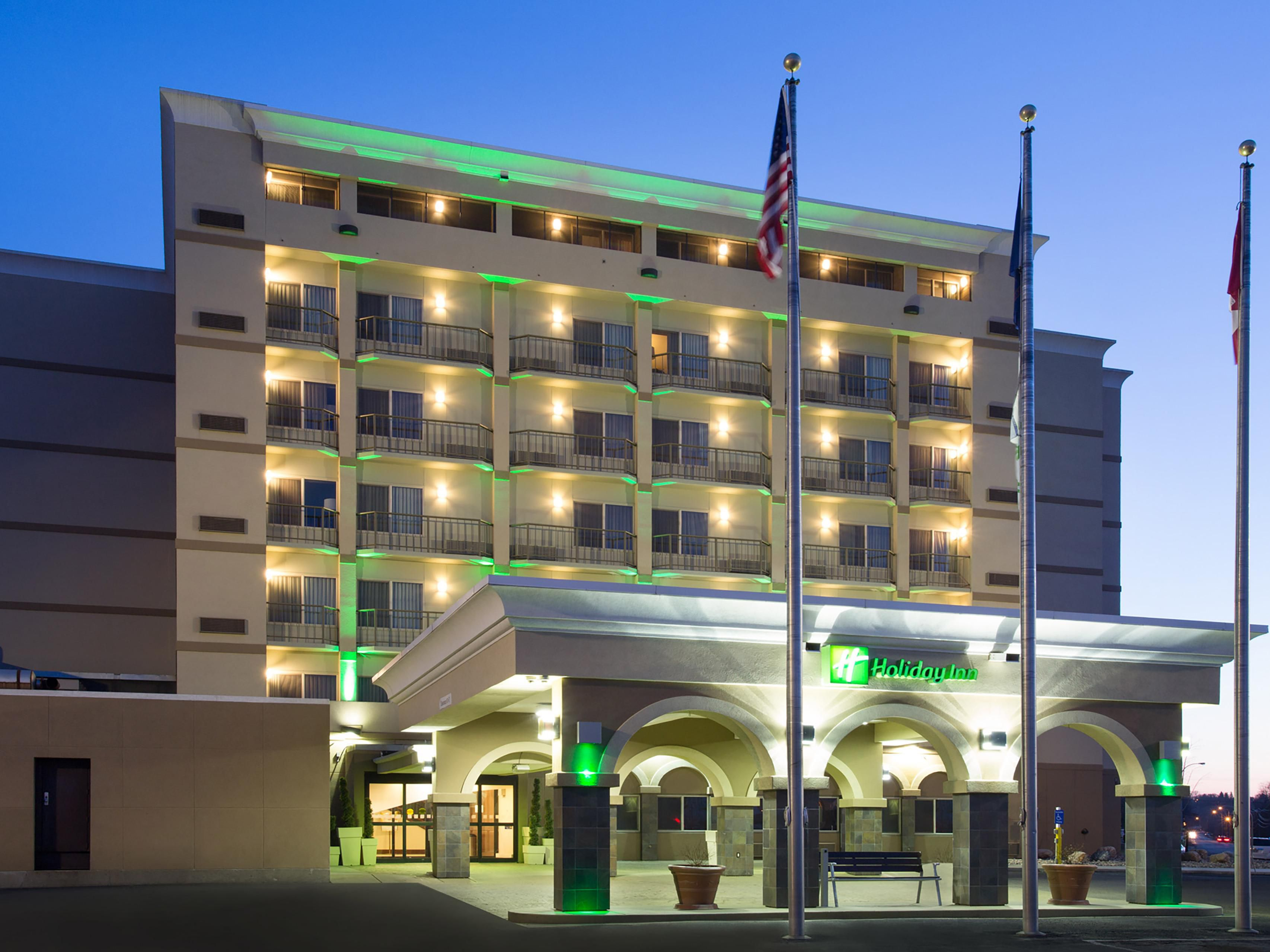 Welcome To The Holiday Inn Riverside