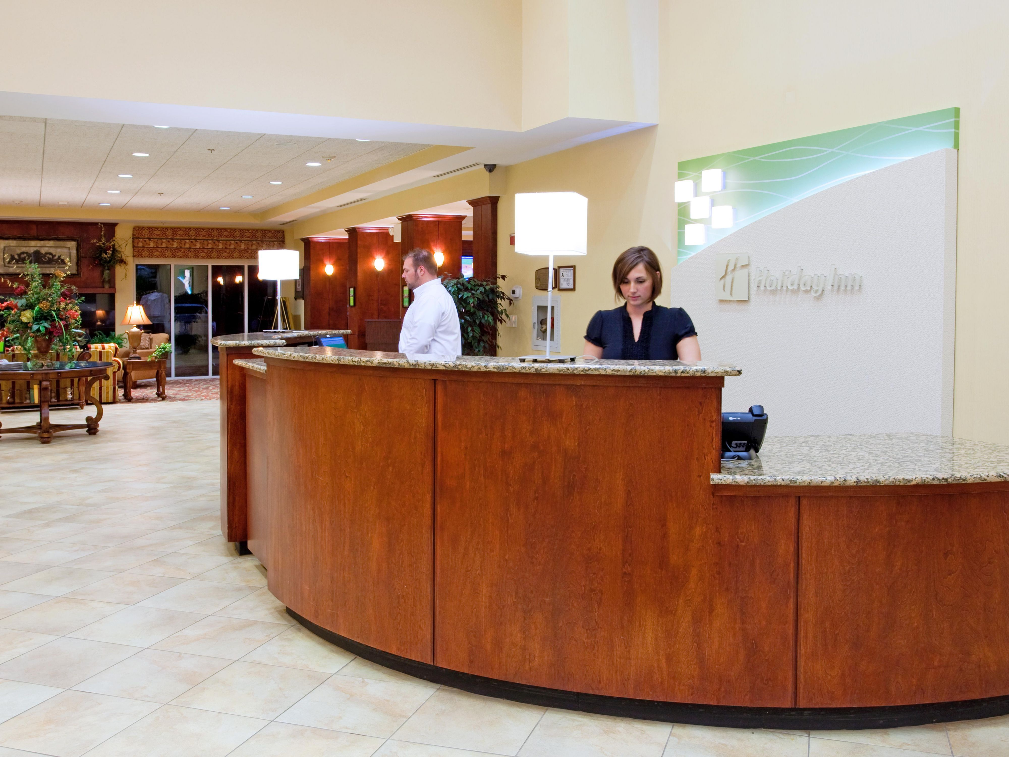 Our friendly and well-trained staff is ready to assist you!