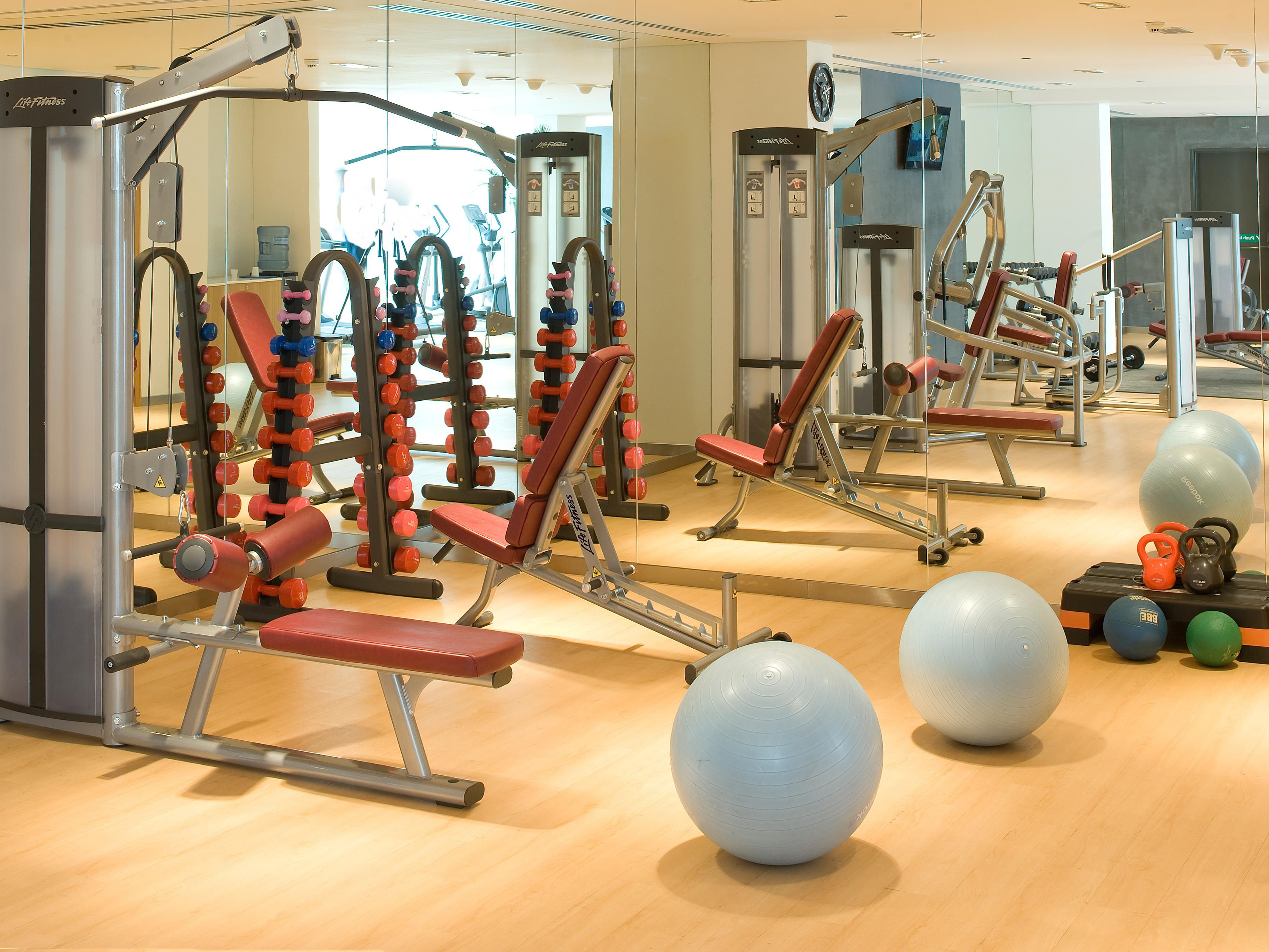 Stay Fit - With state of the art weight training facilities