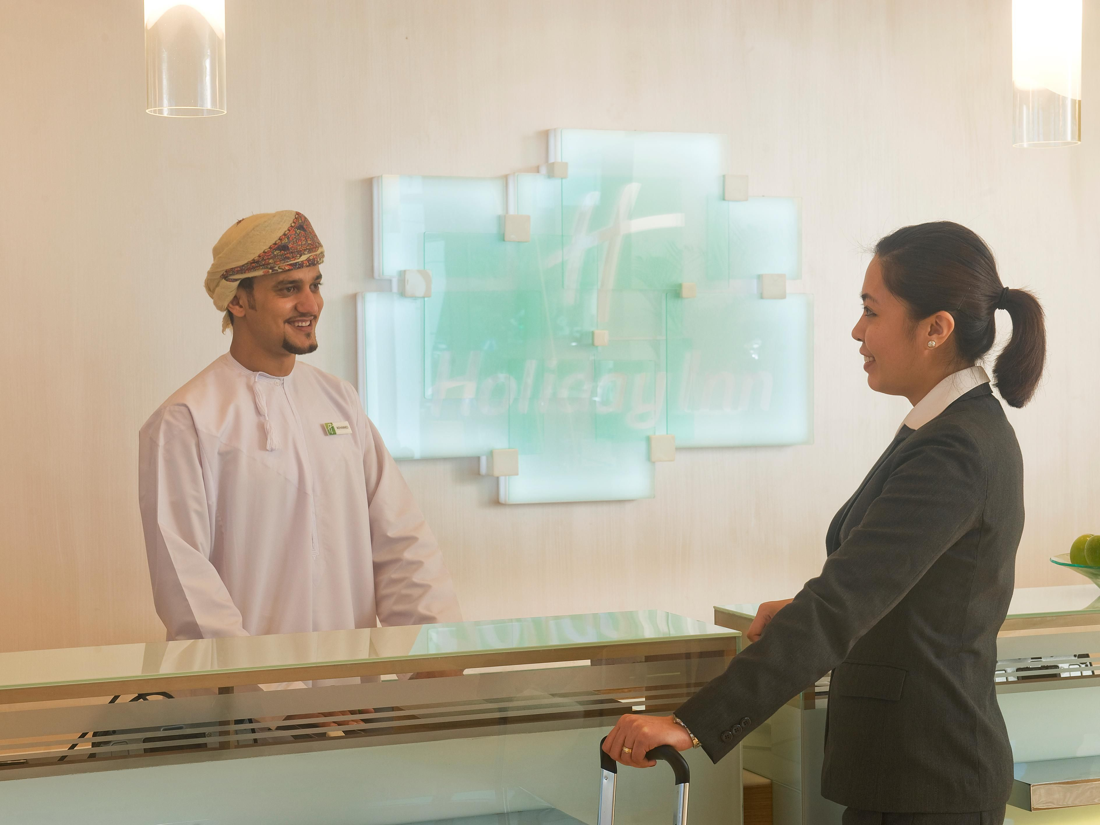 Welcome to Holiday Inn Muscat Al Seeb!