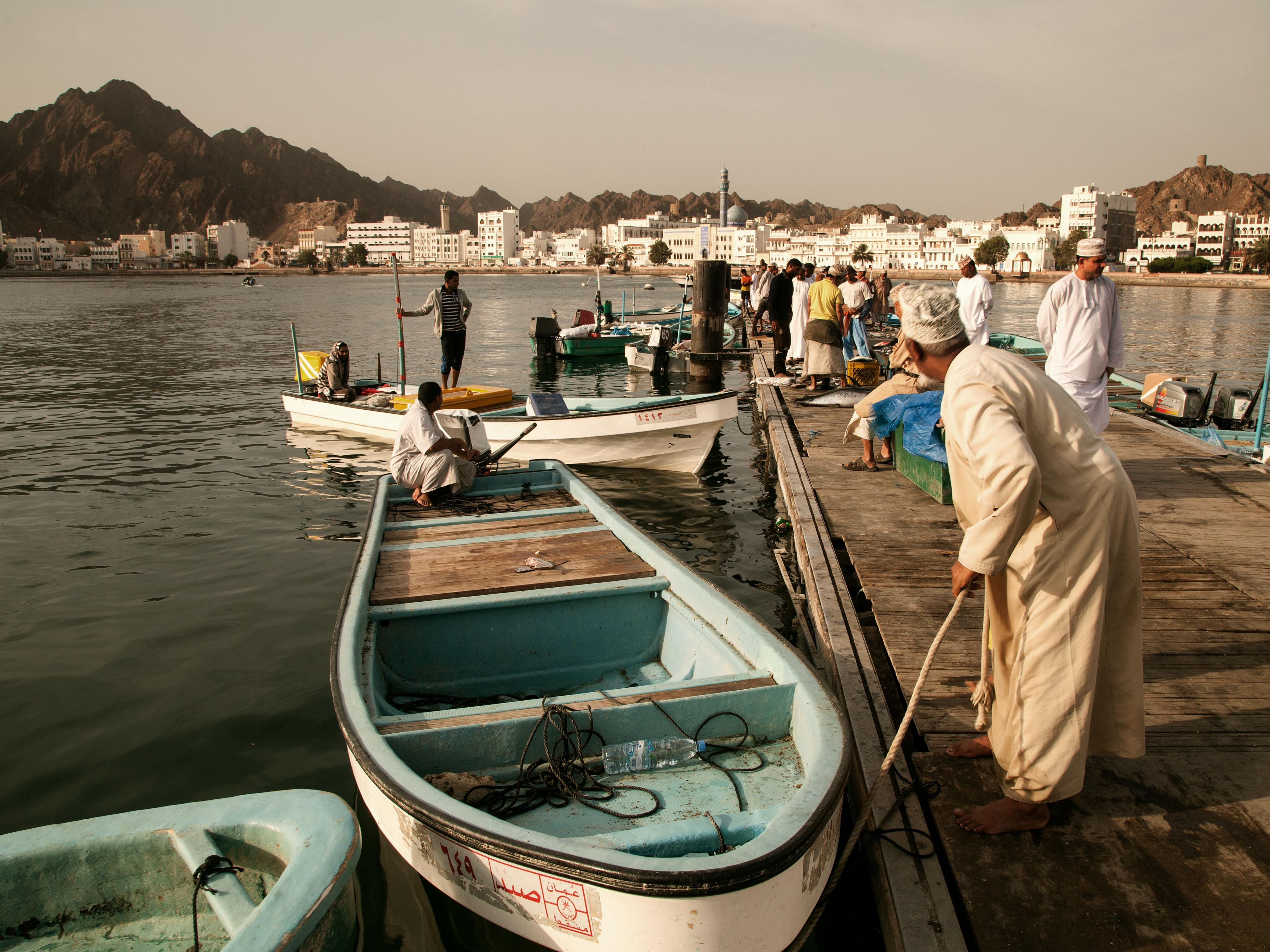 Maintaing Traditions - Muscat Fishmarket in Mutrah