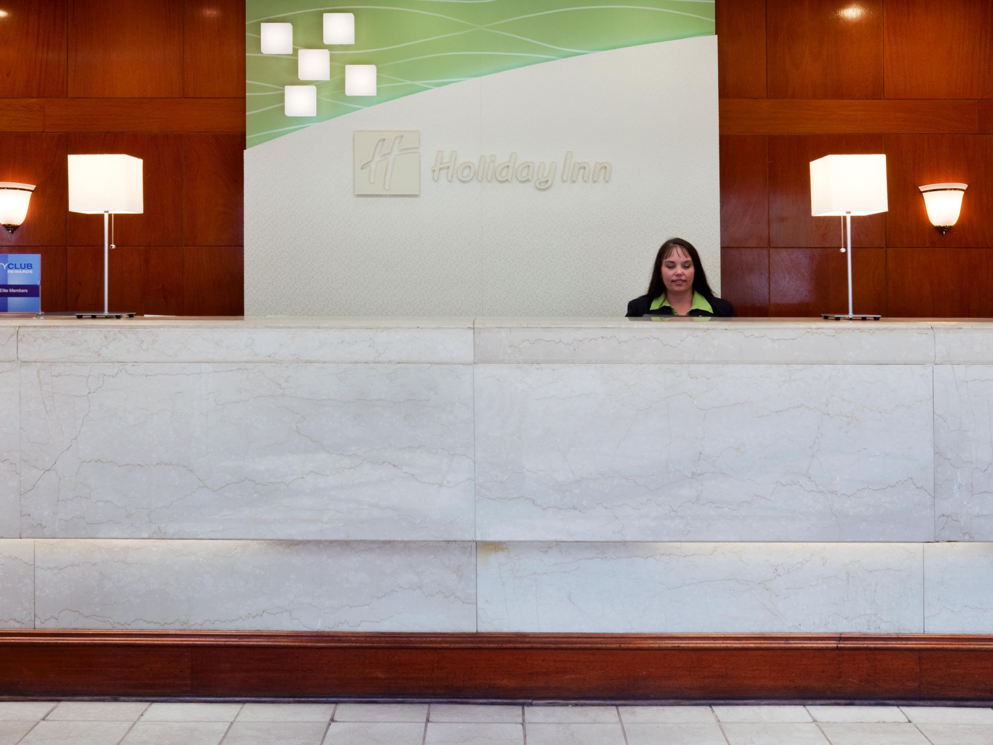 Holiday Inn Nashville Airport Front Desk