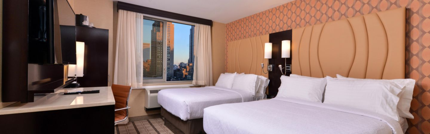 Holiday Inn New York City   Times Square Hotel by IHG IHG Double Bed Guest Room