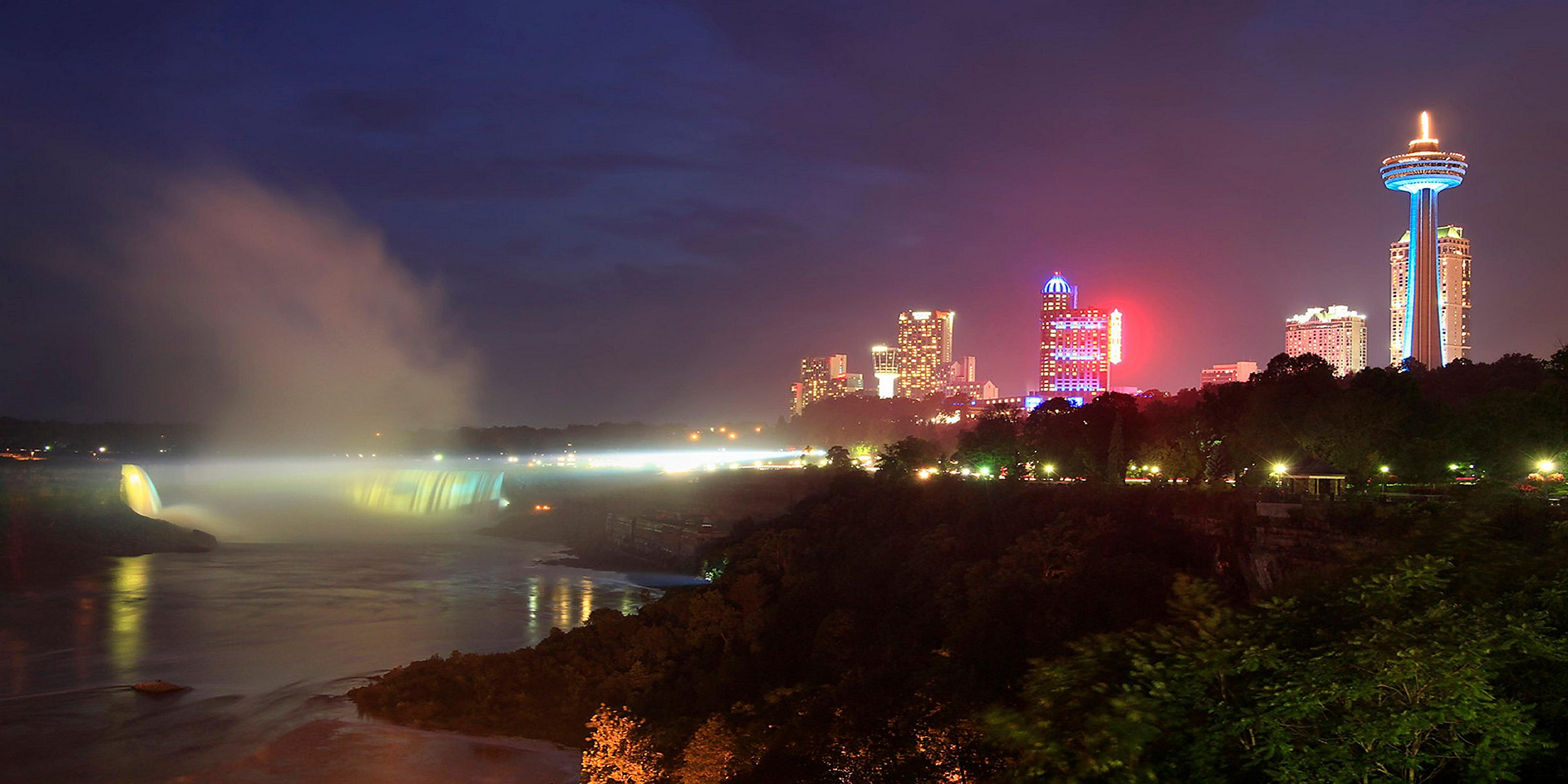 Niagara Falls Canada Hotels With Falls View Holiday Inn