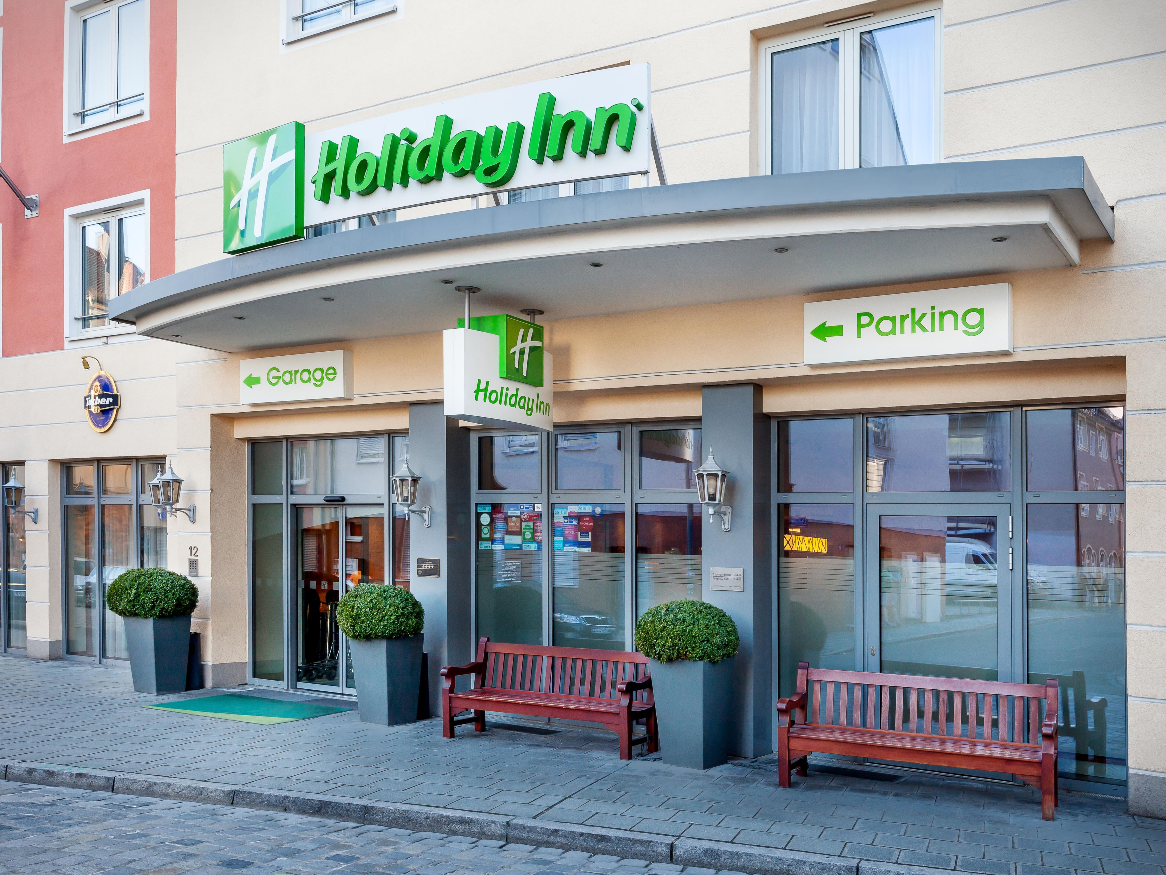 Old Town Hotel: Holiday Inn Hotel Nuremberg City Centre