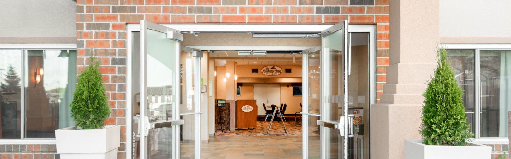 Entrance Hotel