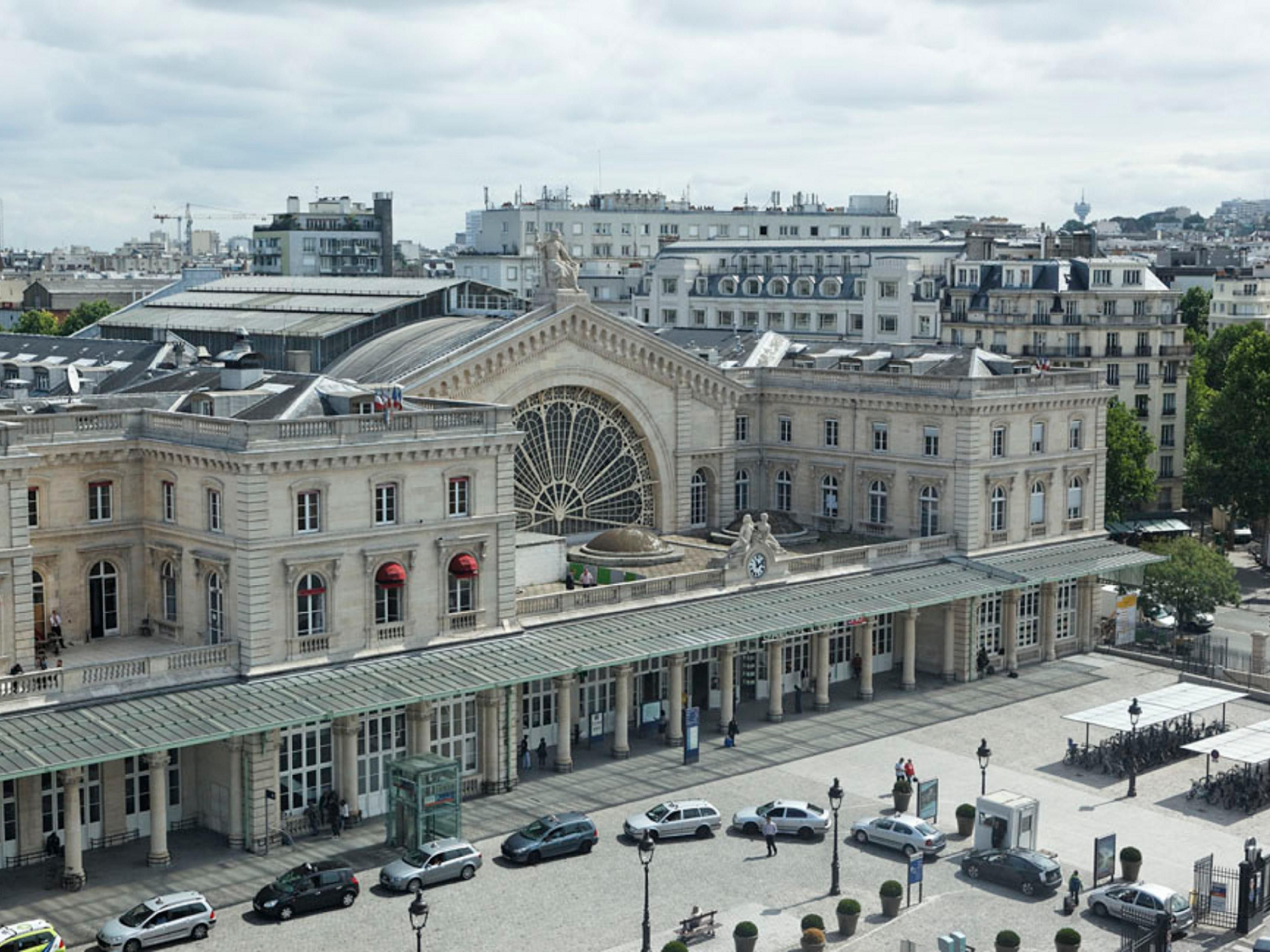 View from Hotel on Gare de l'Est