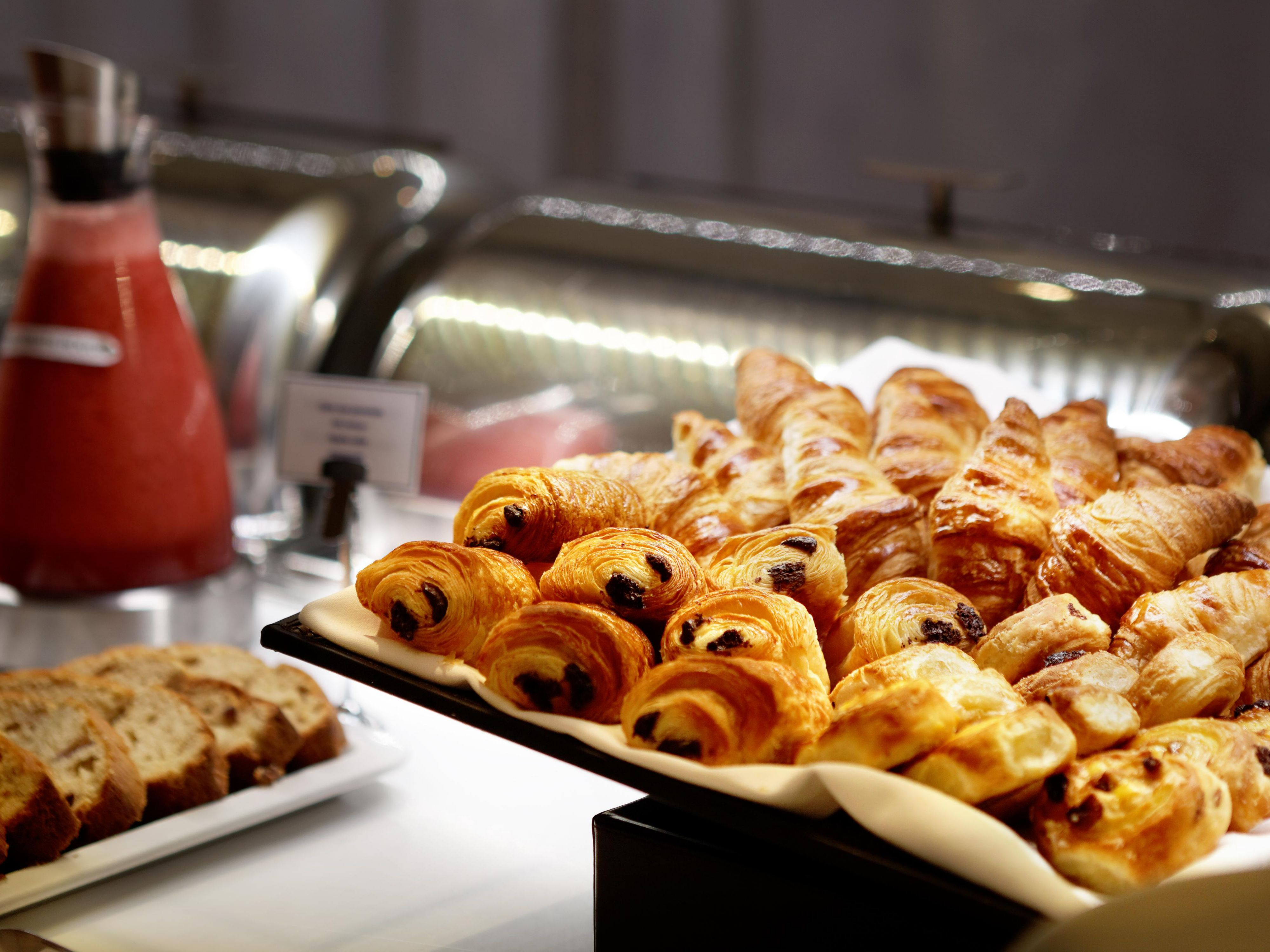 Full Buffet Breakfast with Fresh Pastries