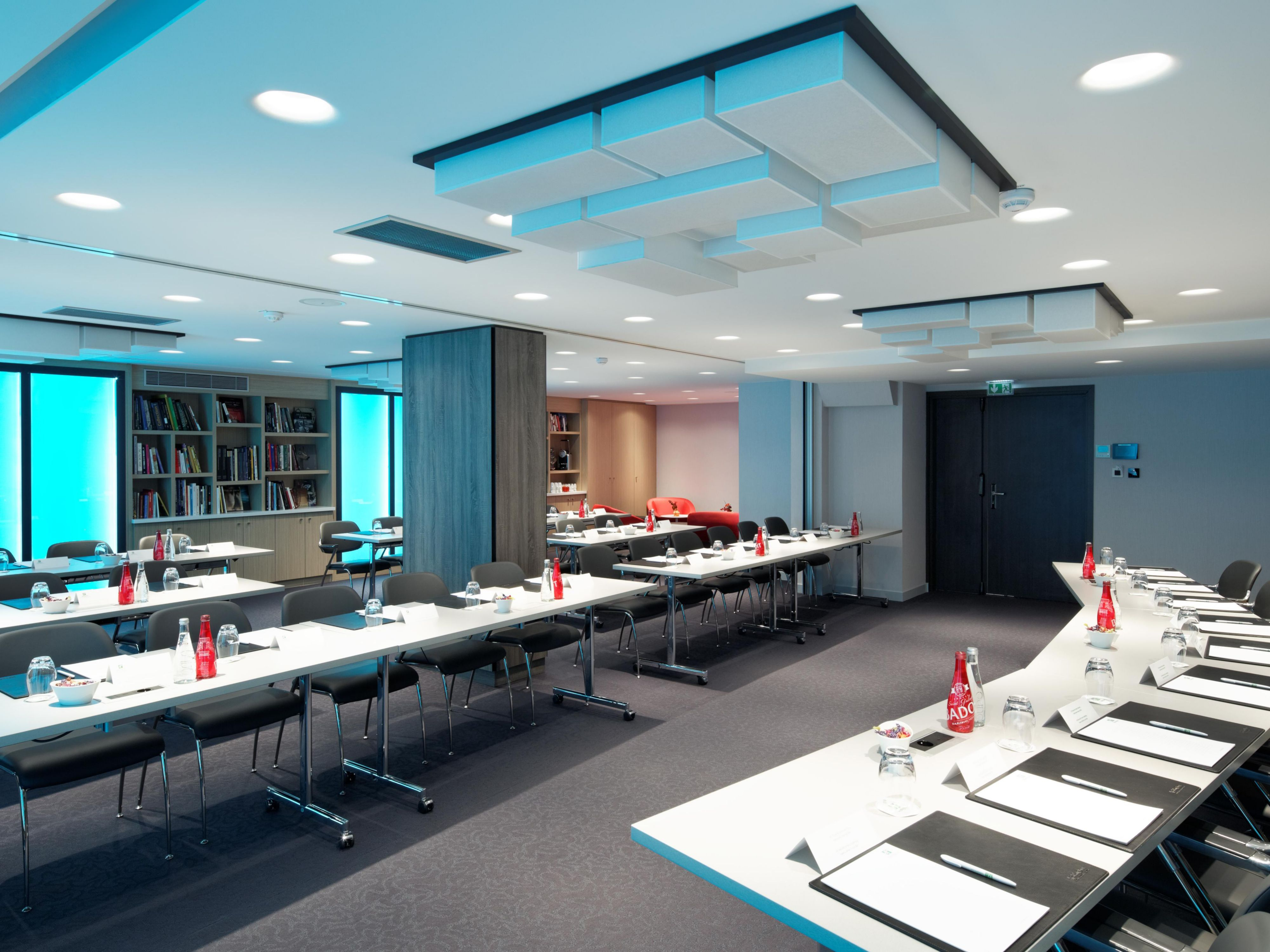 Conference room with Living Colors Lighting System