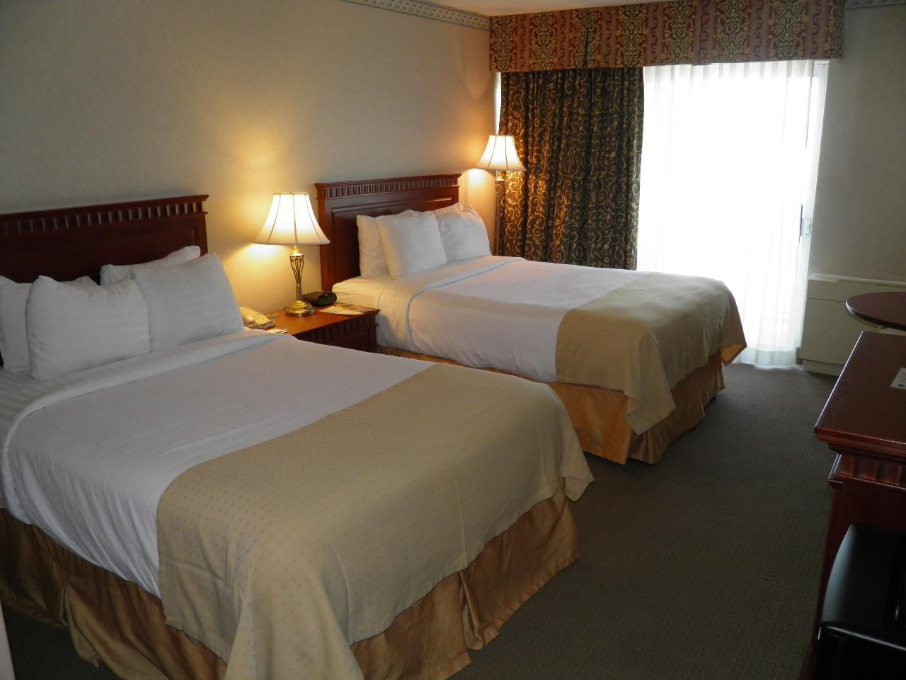Two Double Bedded City View room
