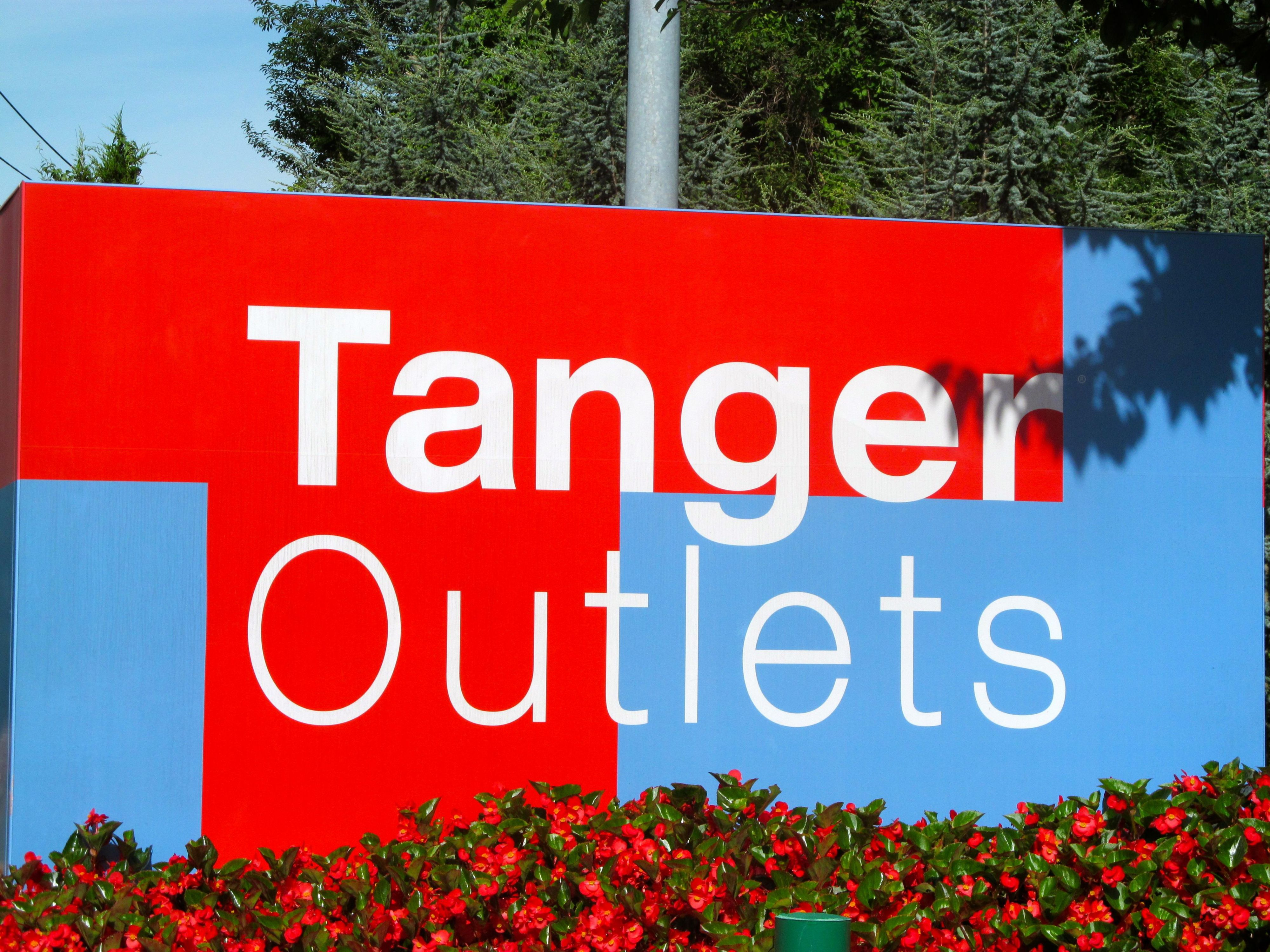 Tanger Oulet in Riverhead, where you can always find a great deal.
