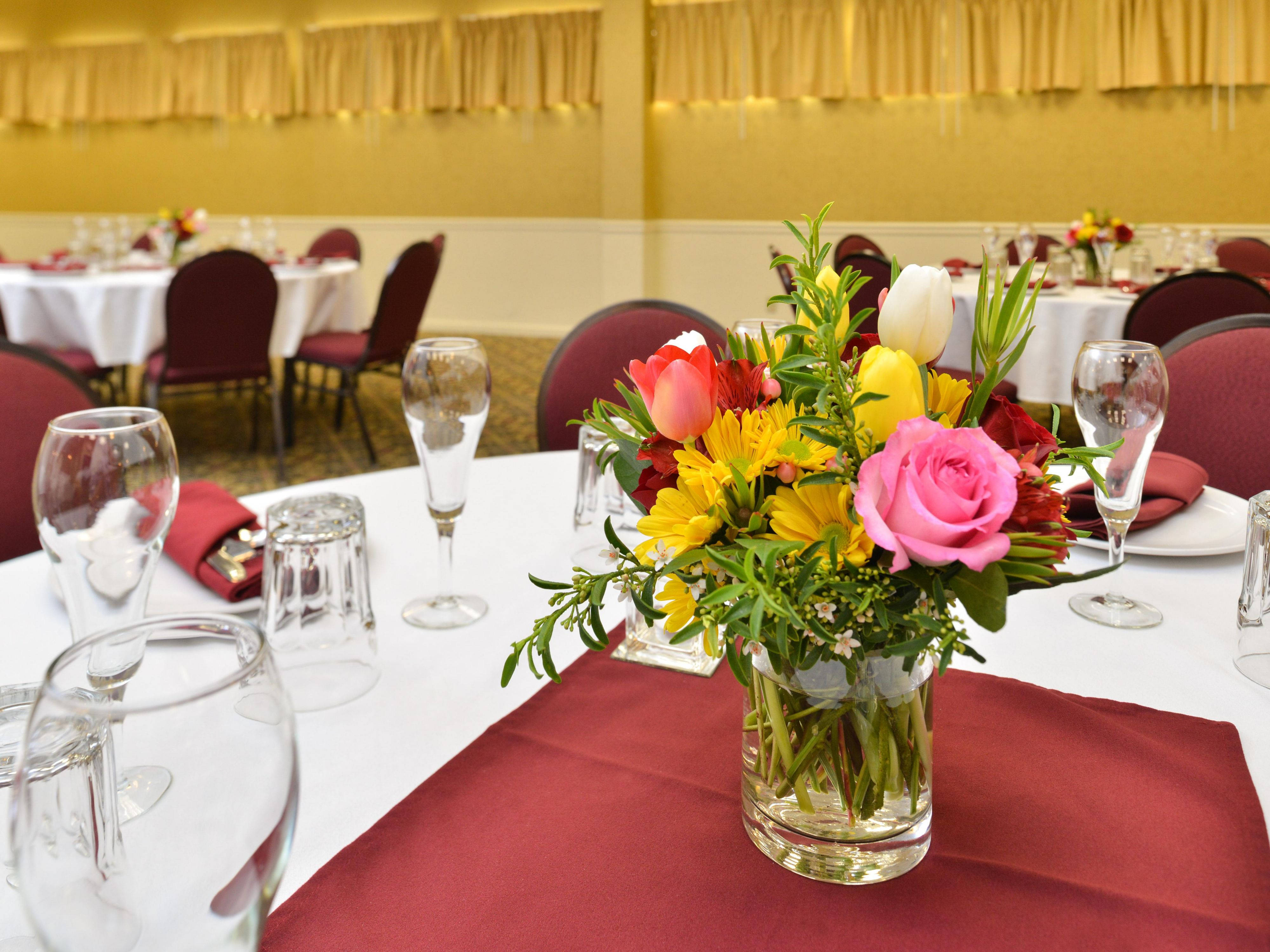 Celebrate special occasions in our Venetian Banquet Room