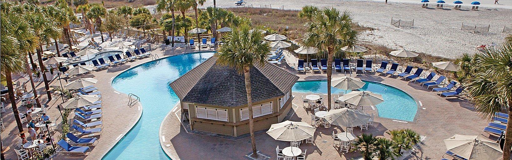 Oceanfront Hilton Head Resorts | Holiday Inn Resort Beach House