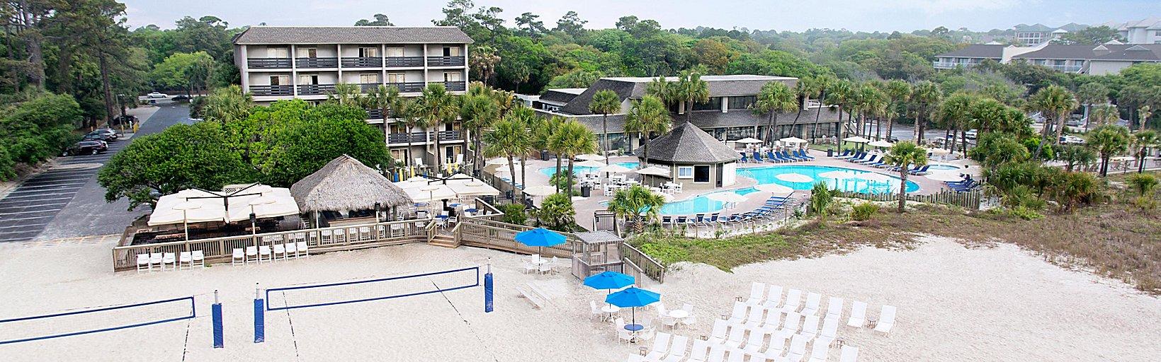 Hilton Head Resorts >> Oceanfront Hilton Head Resorts Holiday Inn Resort Beach House