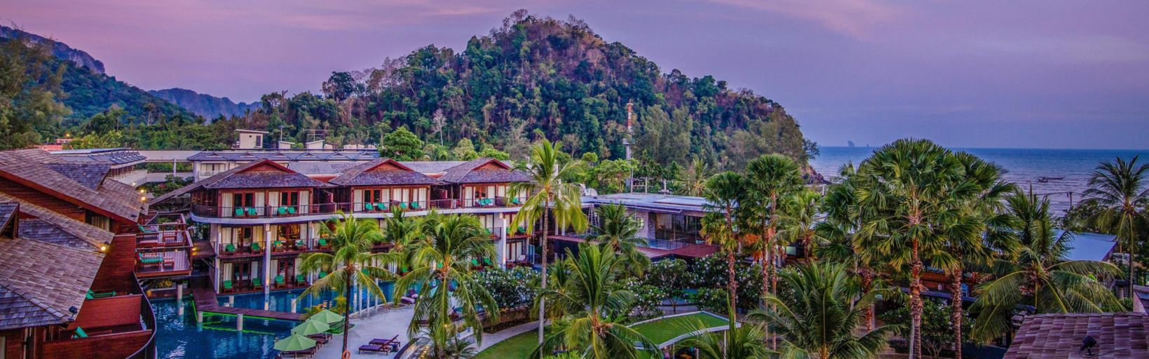 Panoramic Sunset View Hotel Garden Welcome To Holiday Inn Resort Krabi Ao Nang Beach