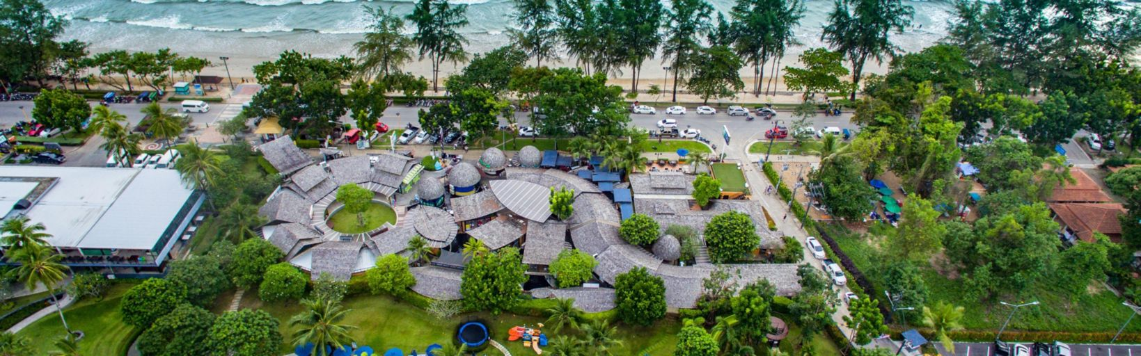 Holiday Inn Resort Krabi Ao Nang Beach Wing Building Aerial View