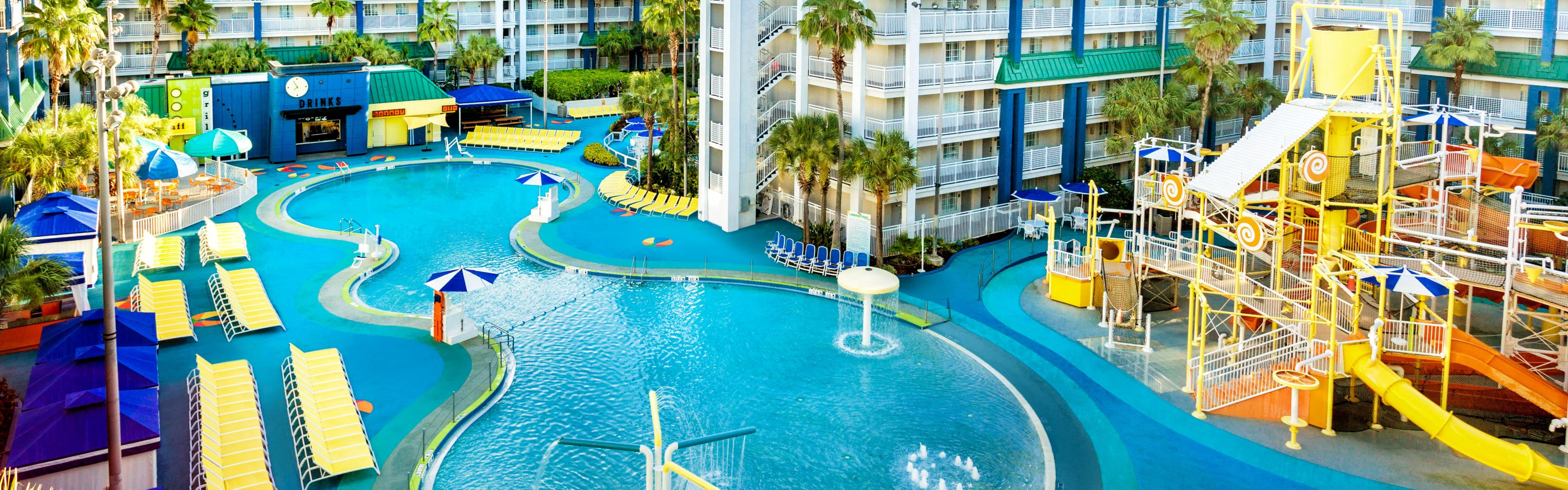 ... Orlando Suites   Waterpark; The Lagoon Featuring A Zero Dpeth Entry  Pool And Waterpark ...