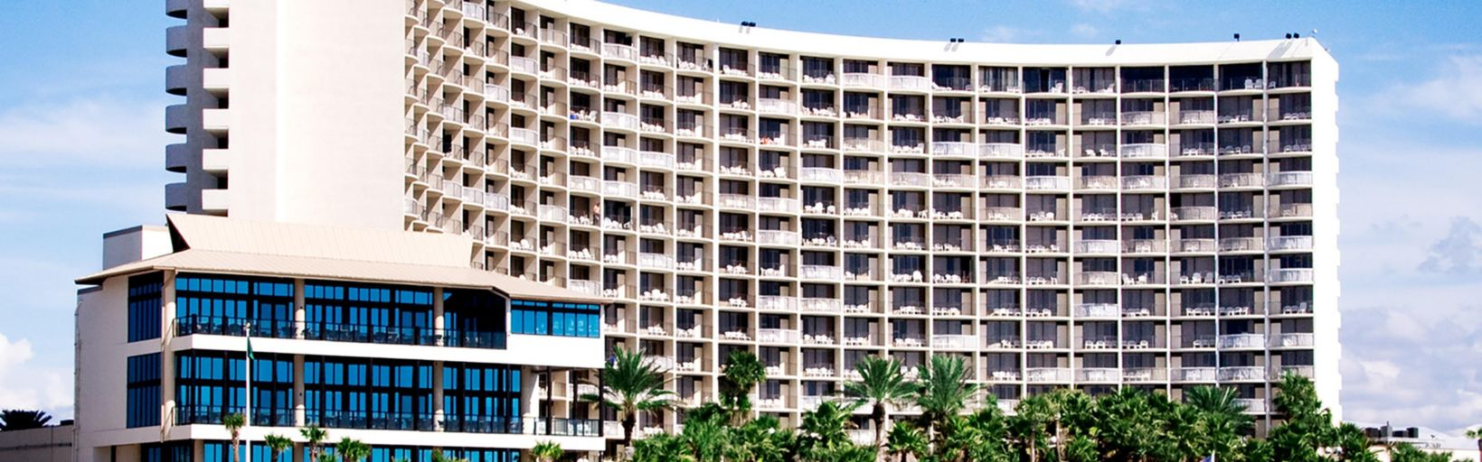 Panama City Beach Hotel Exterior View From