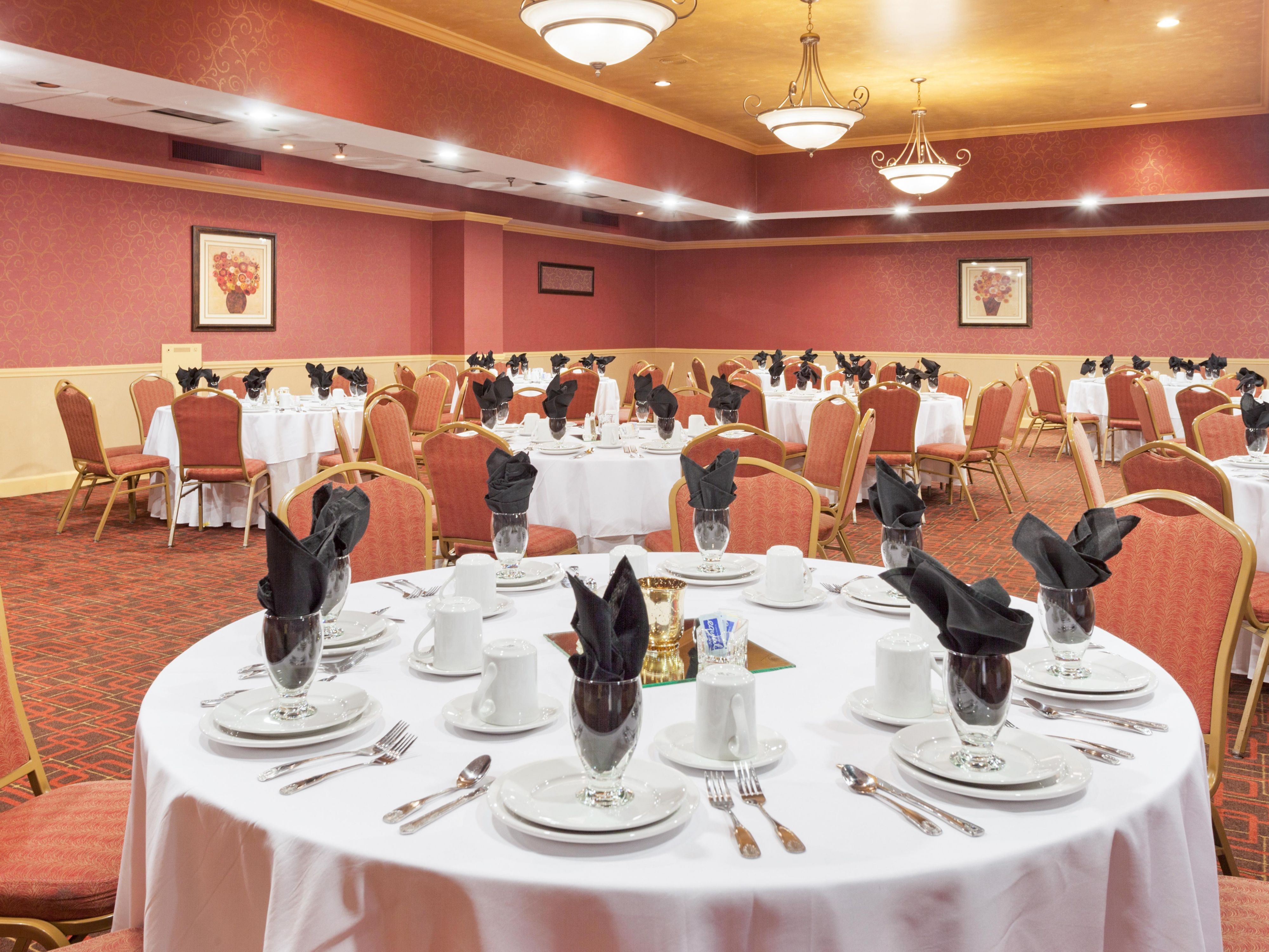 Ballroom plan your next dinner/reunion party