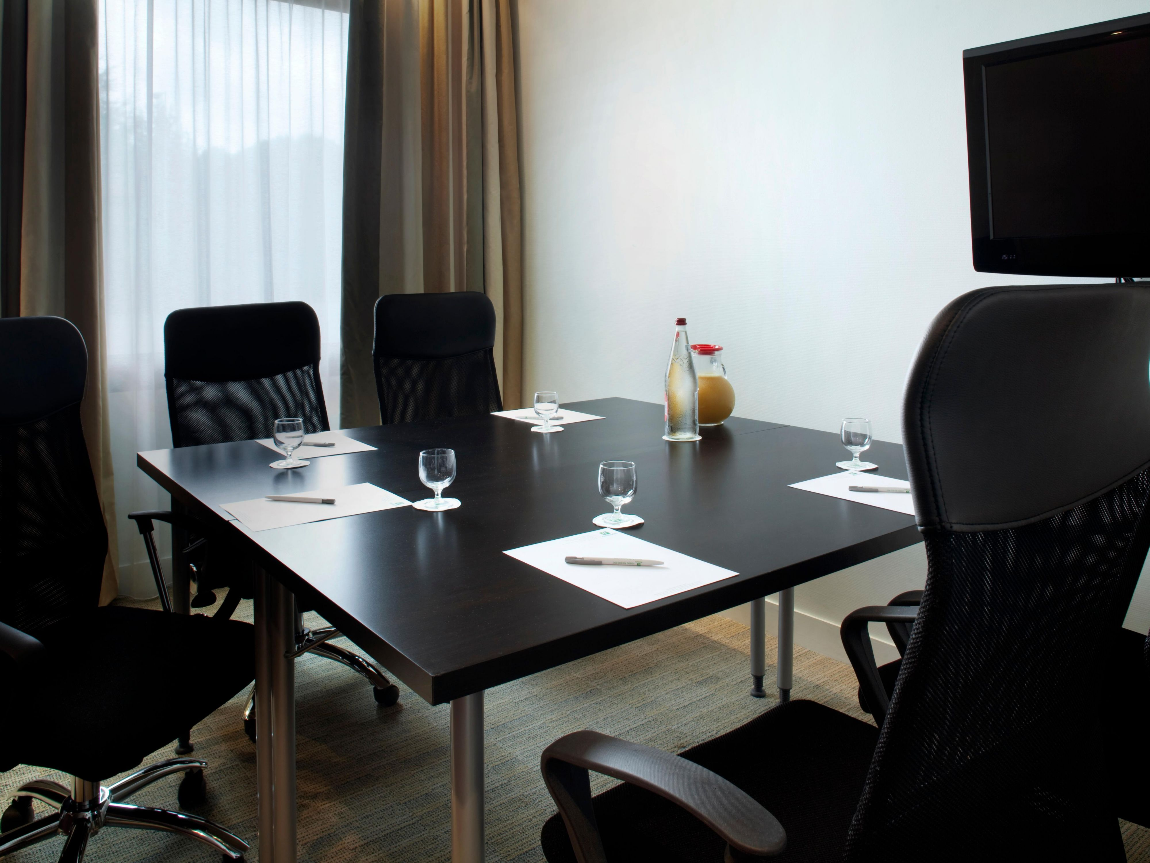 Board room for confidential meetings
