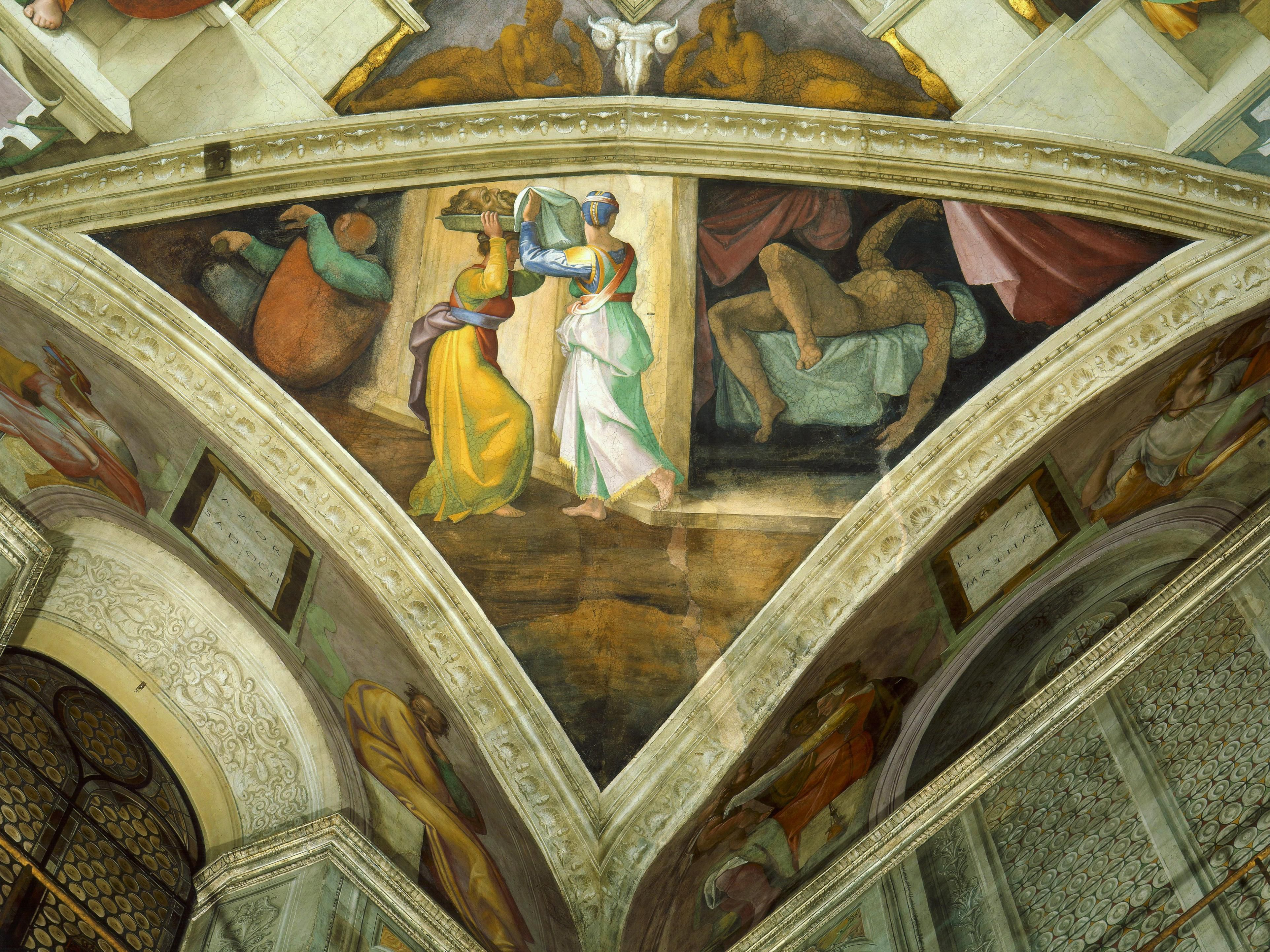 Detail of the Sistine Chapel