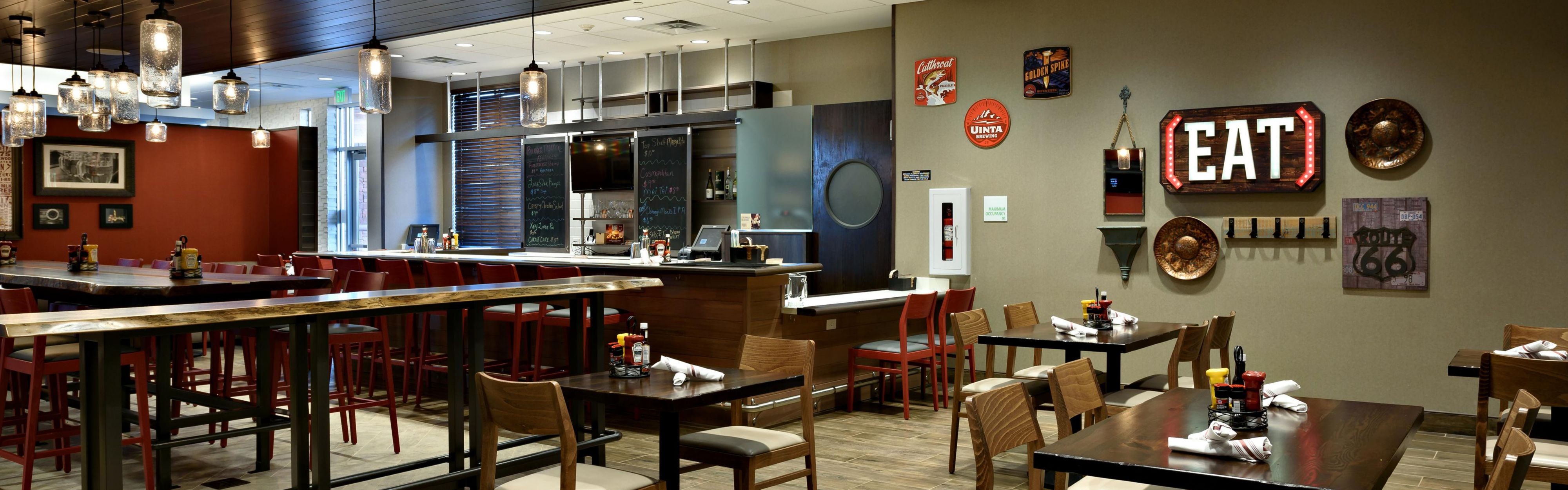 Burger Theory Restaurant  Holiday Inn St George, Utah Hotel ...
