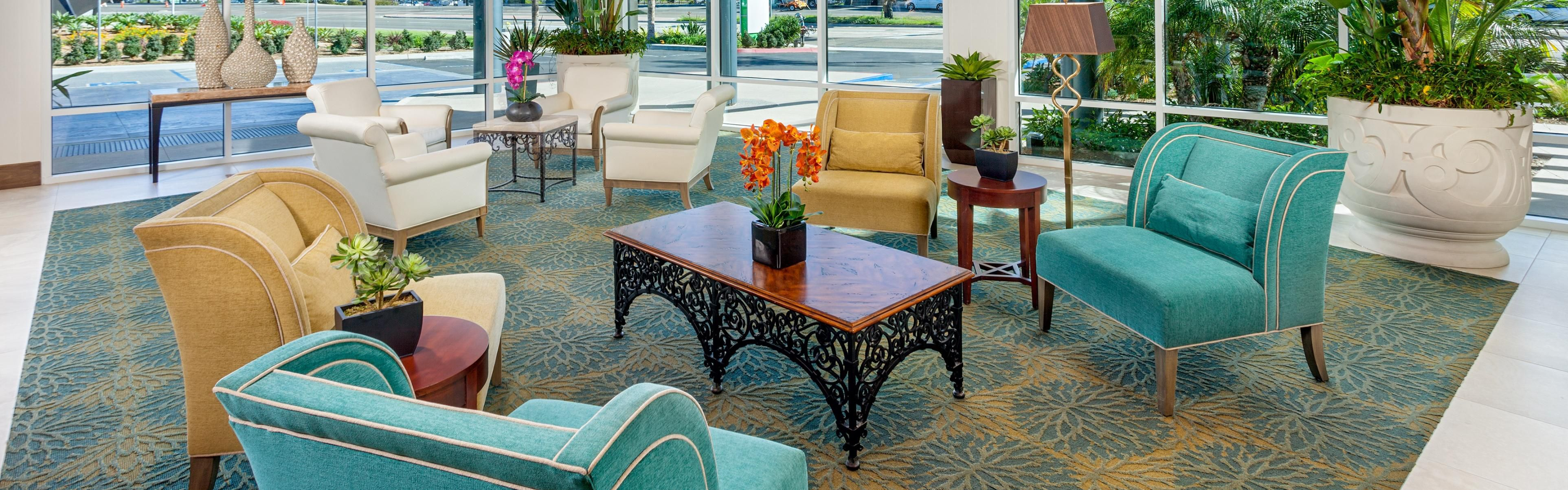 Our Stunning Lobby Area Welcomes You In Style And Comfort; Outdoor Patio ...