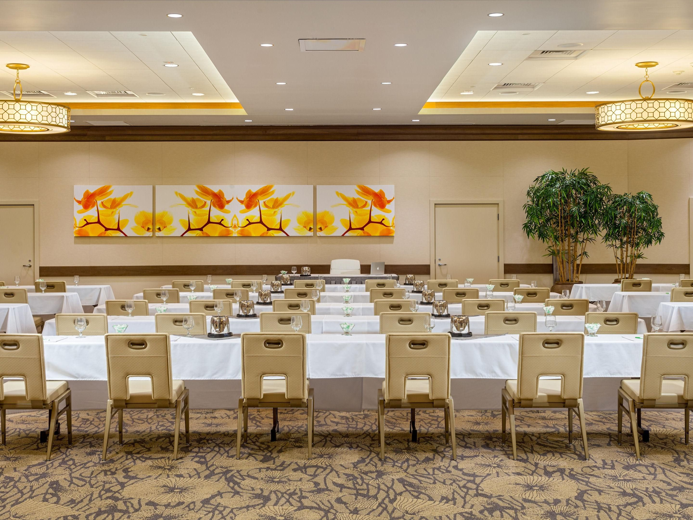 Book a meeting in our new Bayside Ballroom!