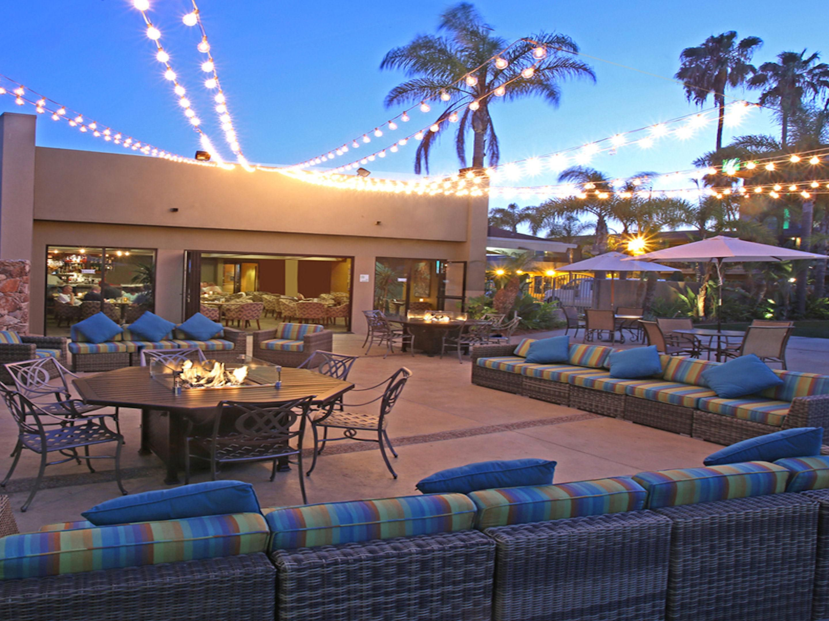 Enjoy our beautiful outdoor patio!