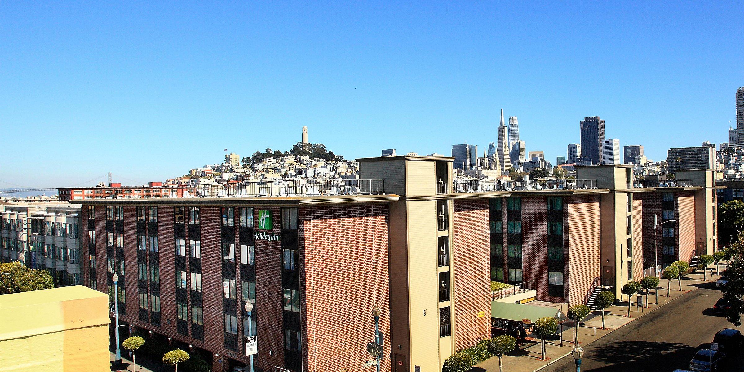 Fisherman S Wharf Hotels Near Pier 39 Holiday Inn San Francisco