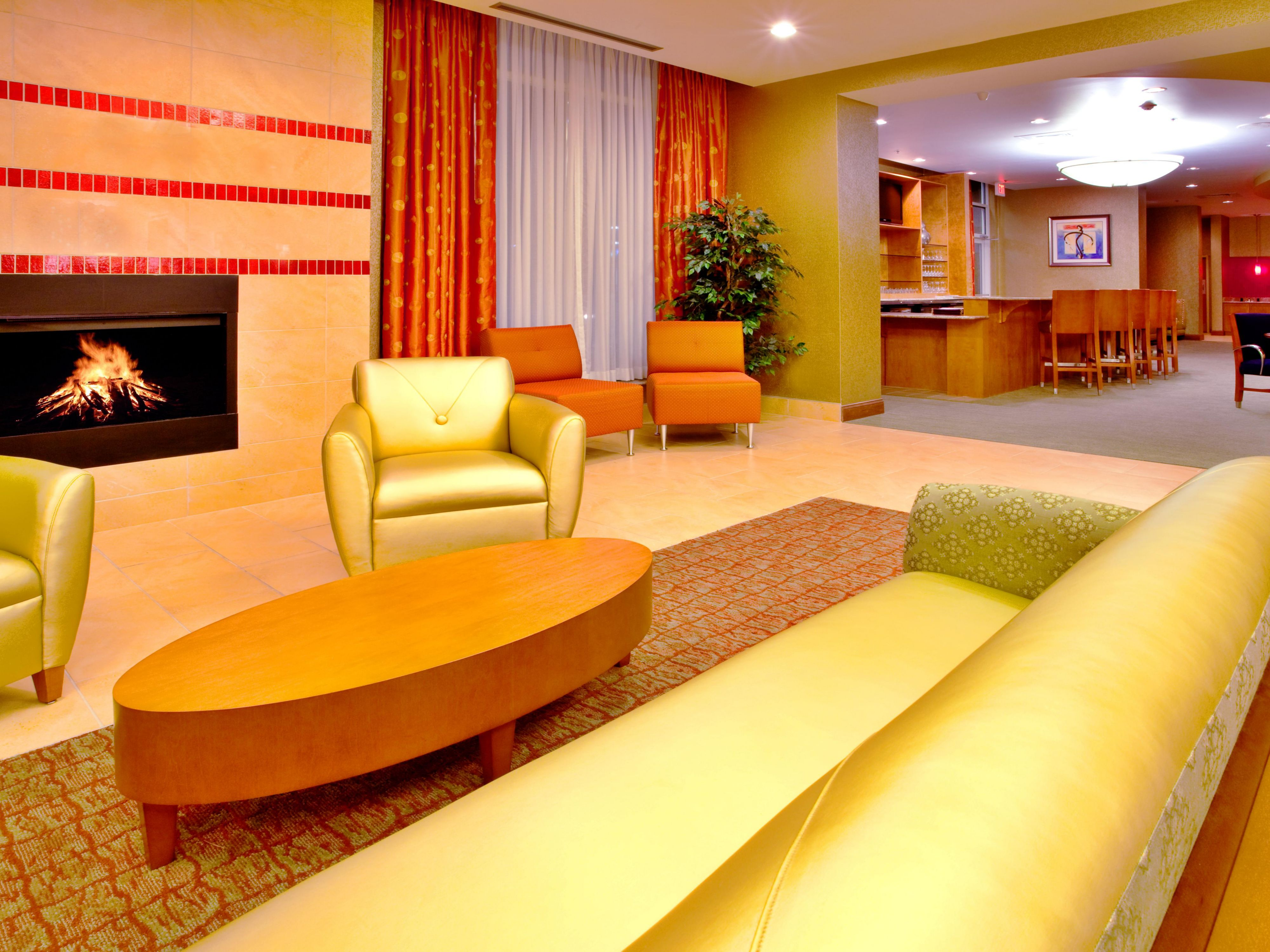 Enjoy our comfortable lobby