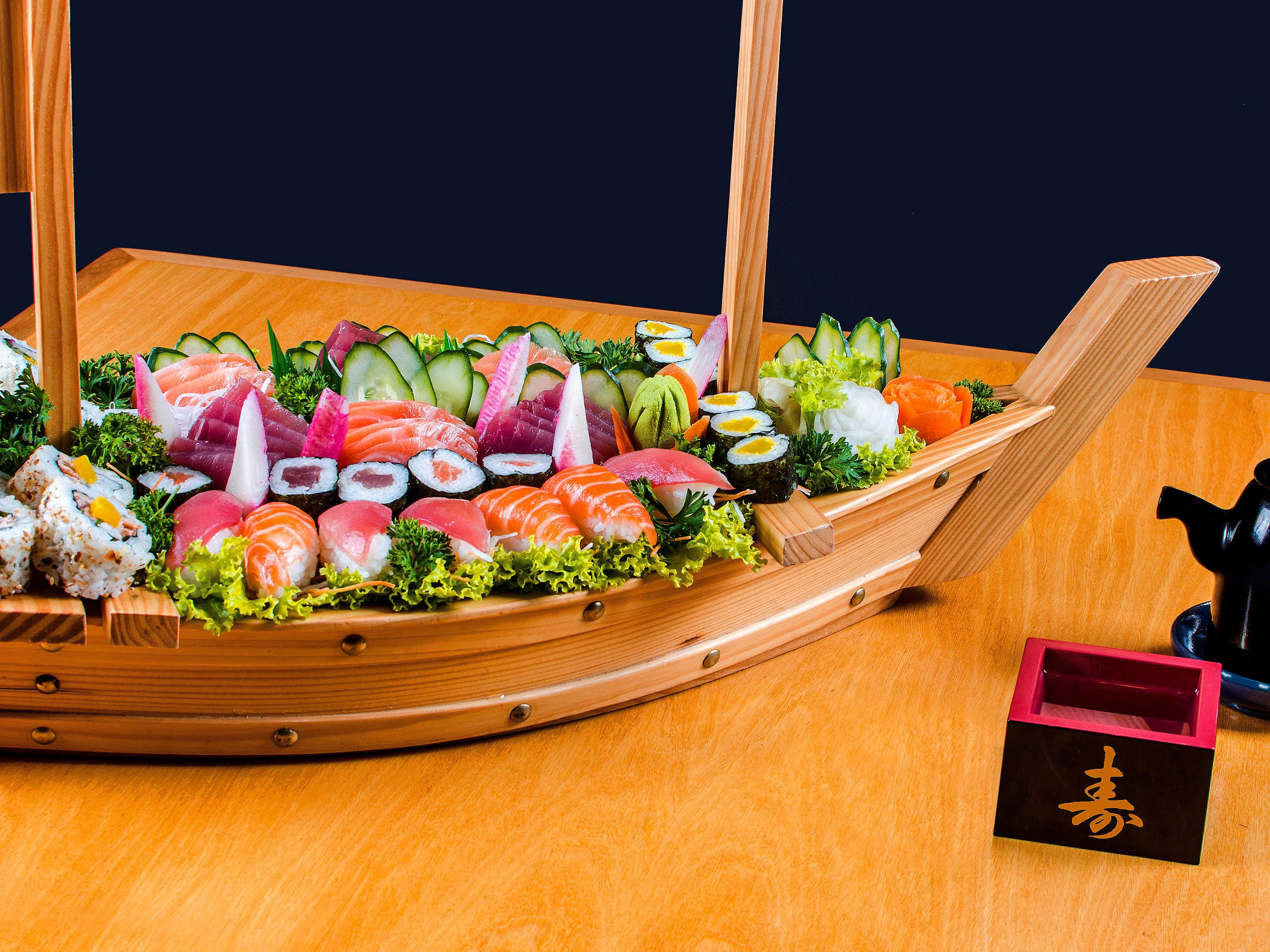 Combinado de sushi do Sushi Bar - Holiday Inn Parque Anhembi