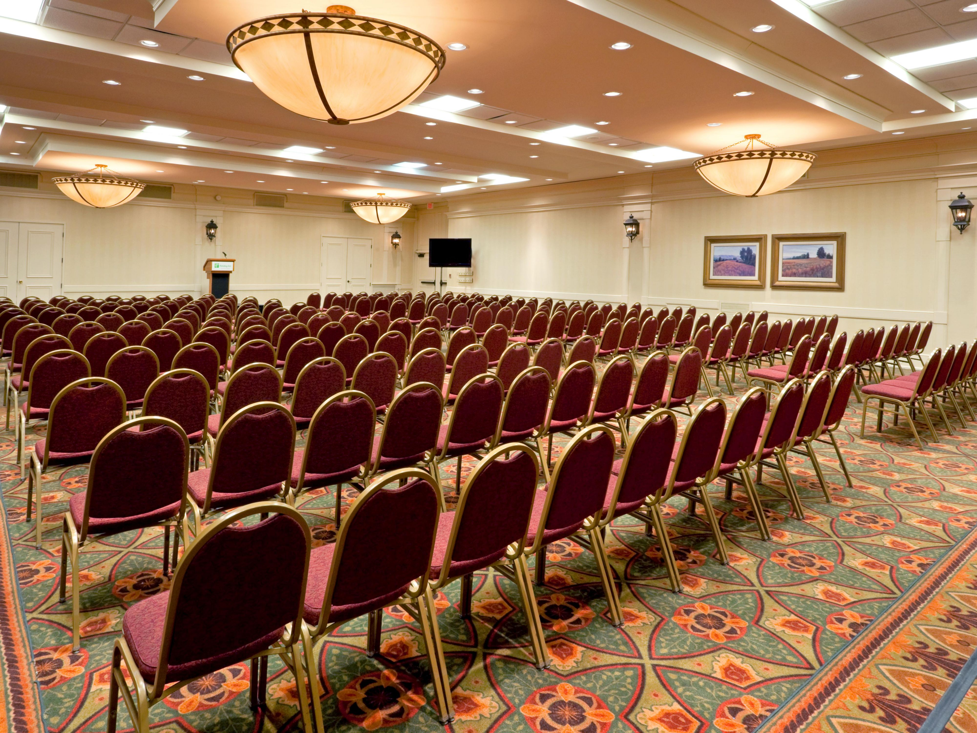 Class Room & Theater Style  For All Size Meetings