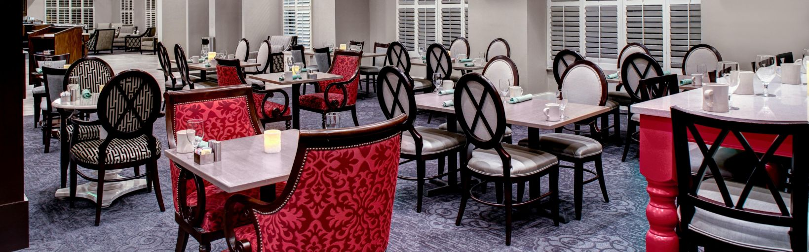 Enjoy A Great Meal At Our On Site Restaurant The Meeting Room